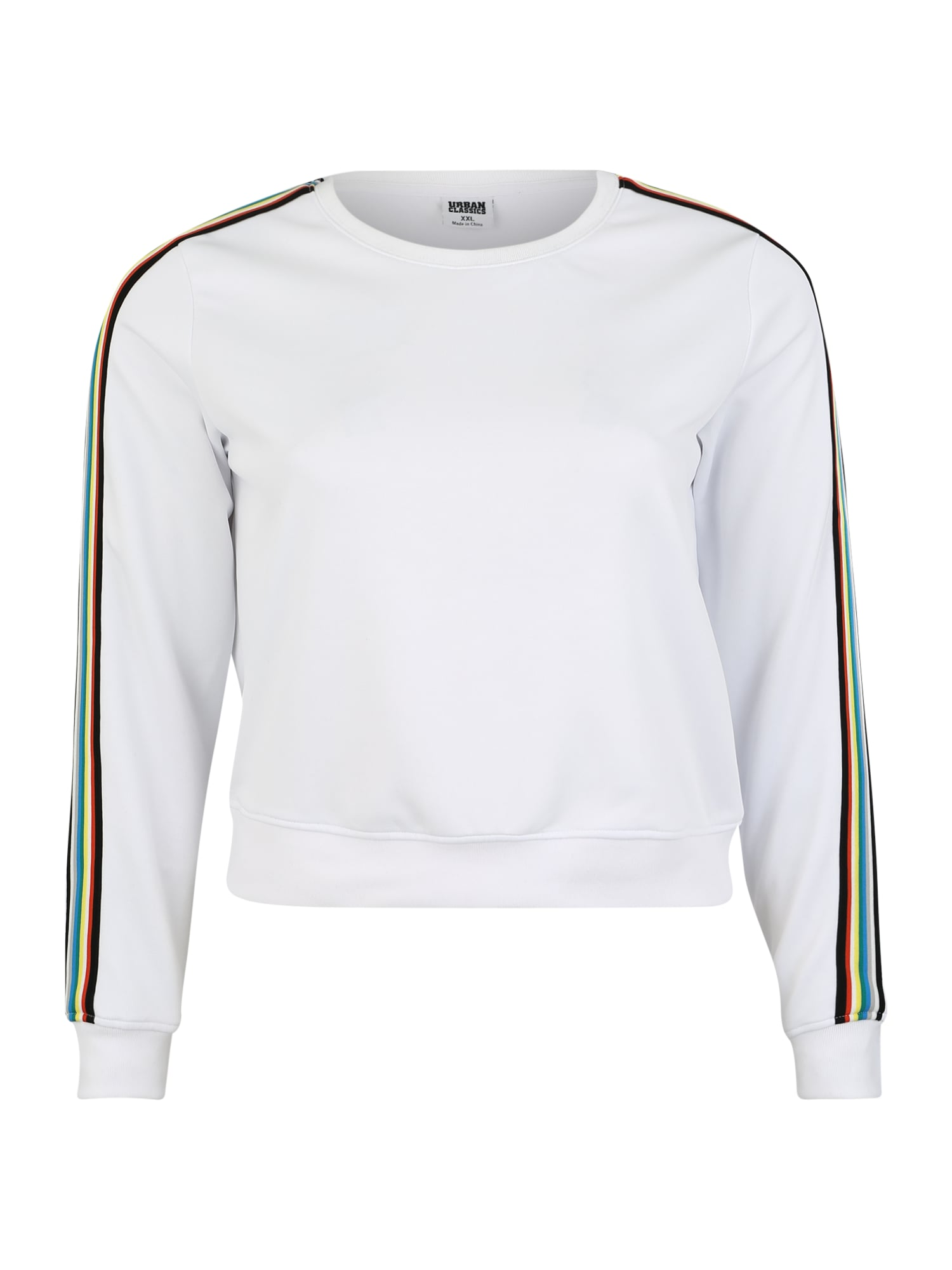 Urban Classics Curvy Megztinis be užsegimo mišrios spalvos / balta