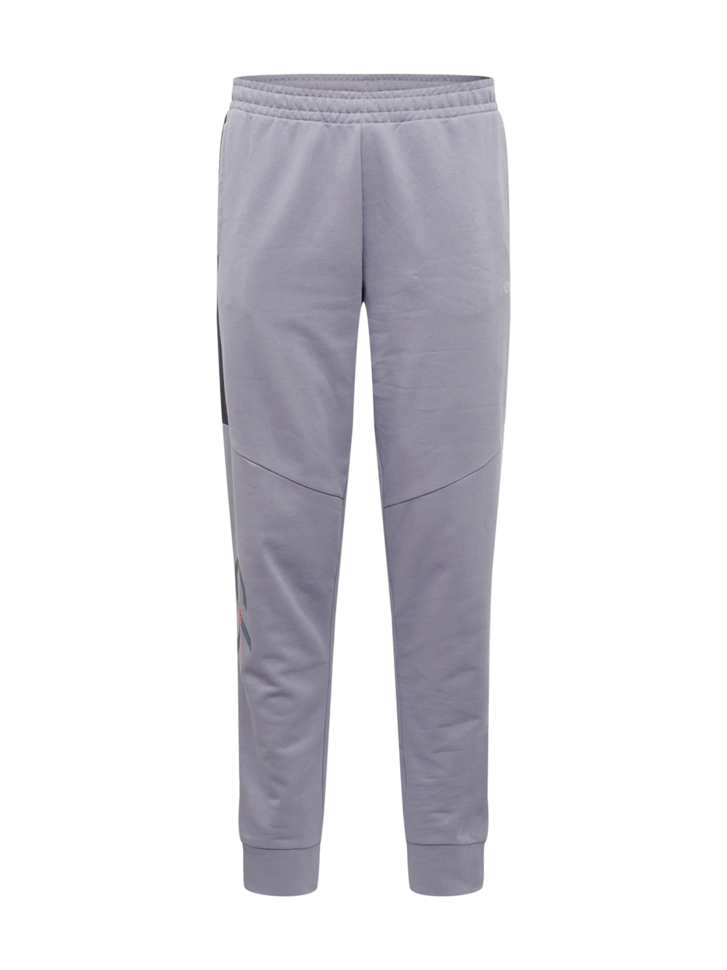 Calvin Klein Performance Športové nohavice  striebornosivá / antracitová