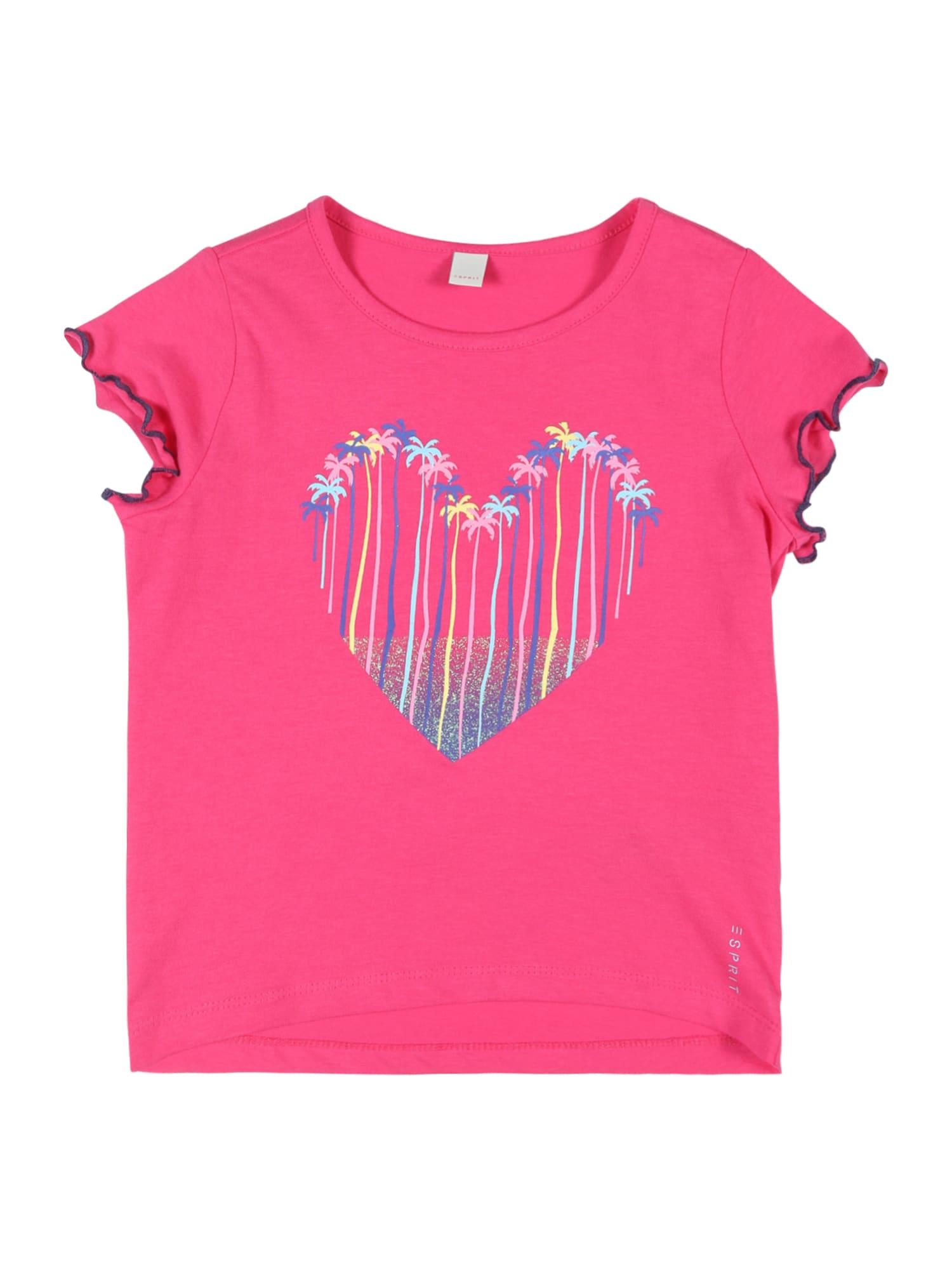 ESPRIT Marškinėliai rožinė
