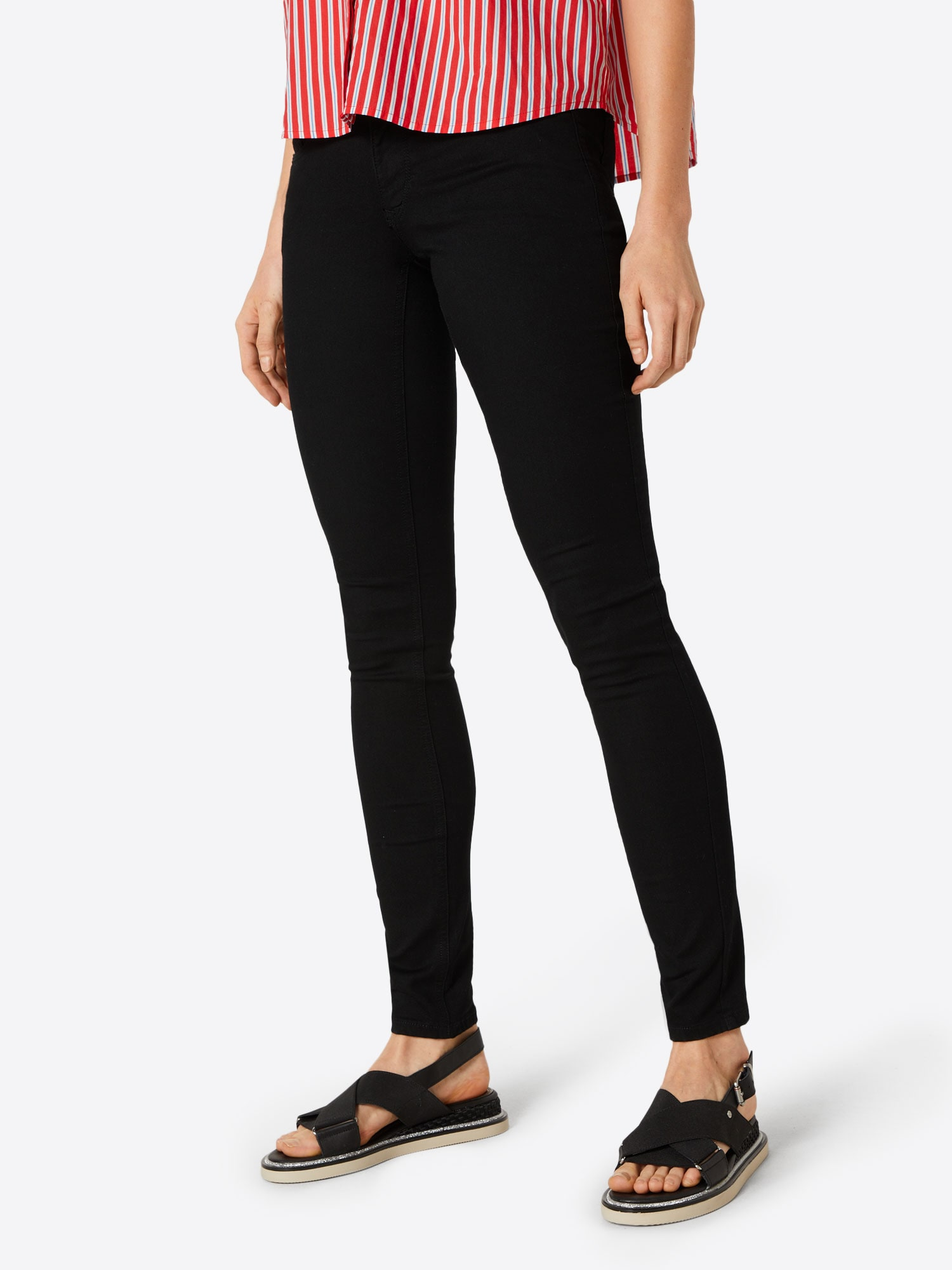Tommy Jeans Jeans 'Sophie'  svart denim