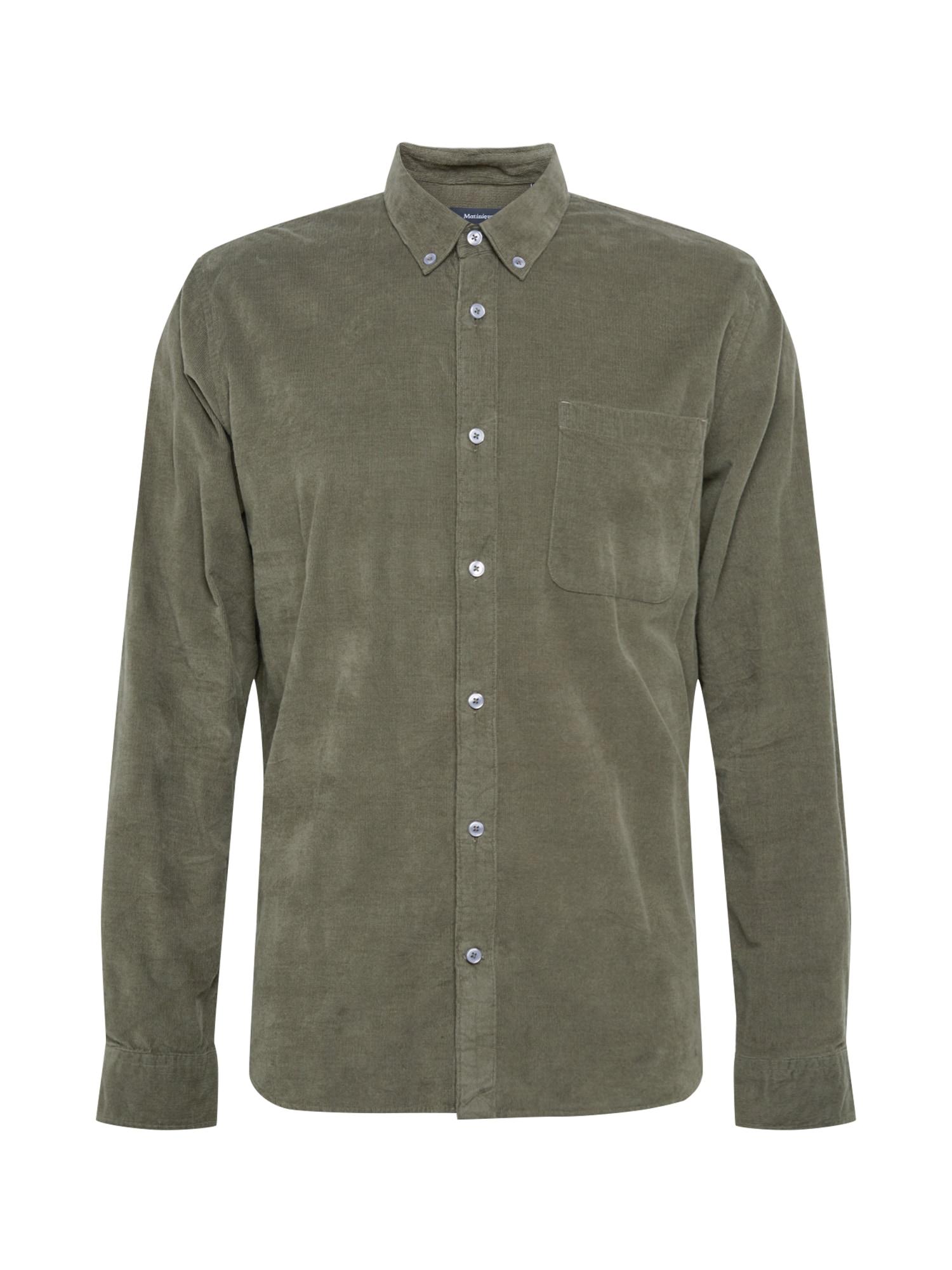Matinique Marškiniai rusvai žalia