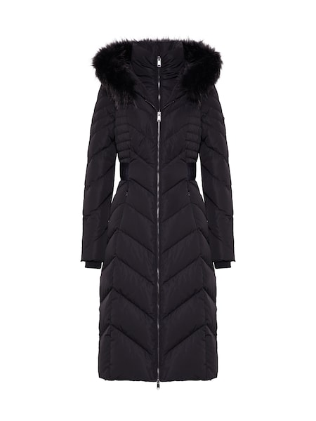 Jacken für Frauen - GUESS Mantel 'PATRICIA' schwarz  - Onlineshop ABOUT YOU