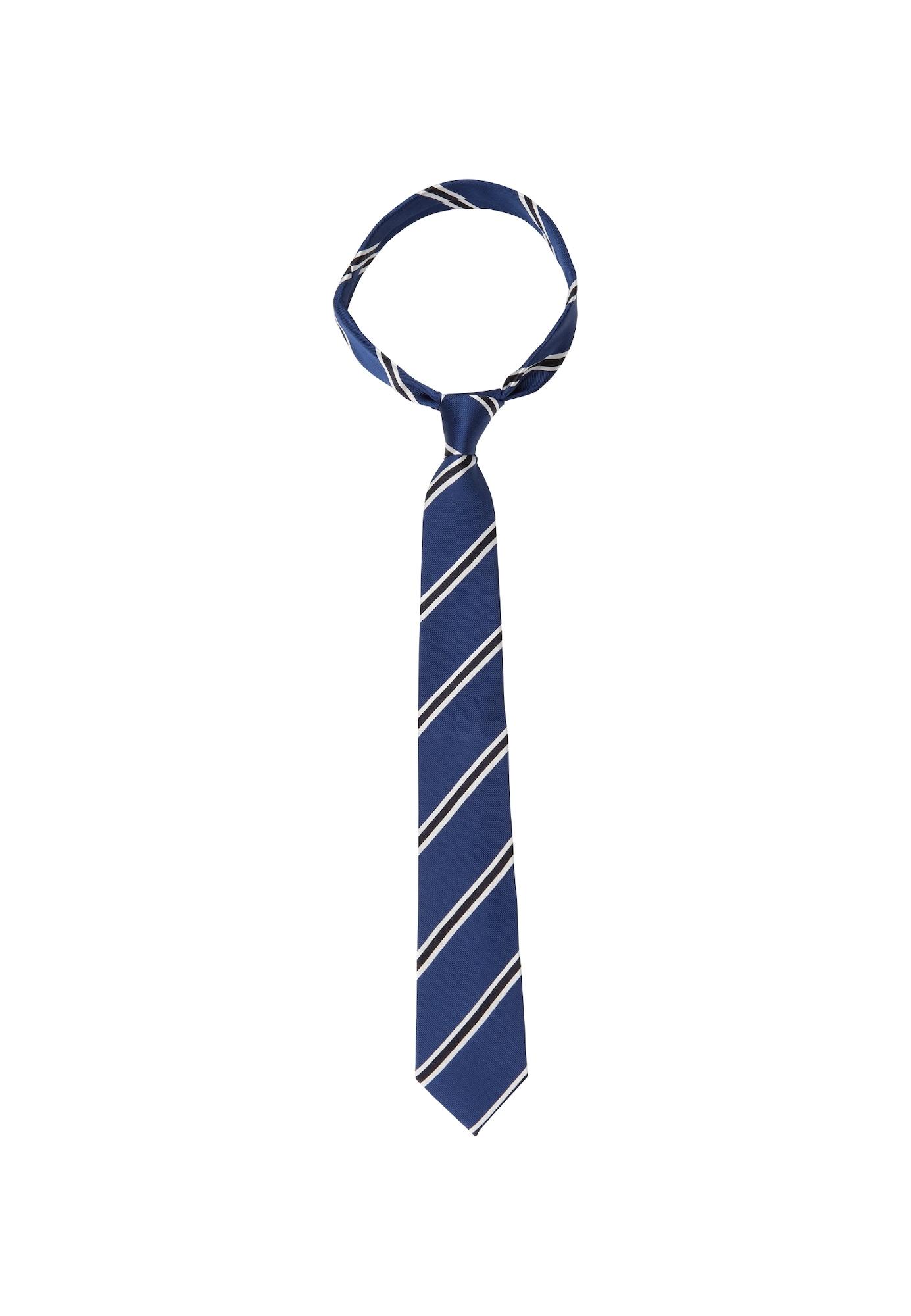 Herren SEIDENSTICKER Krawatte 'Schwarze Rose' blau, grau, pink,  schwarz,  weiß   04048869846519