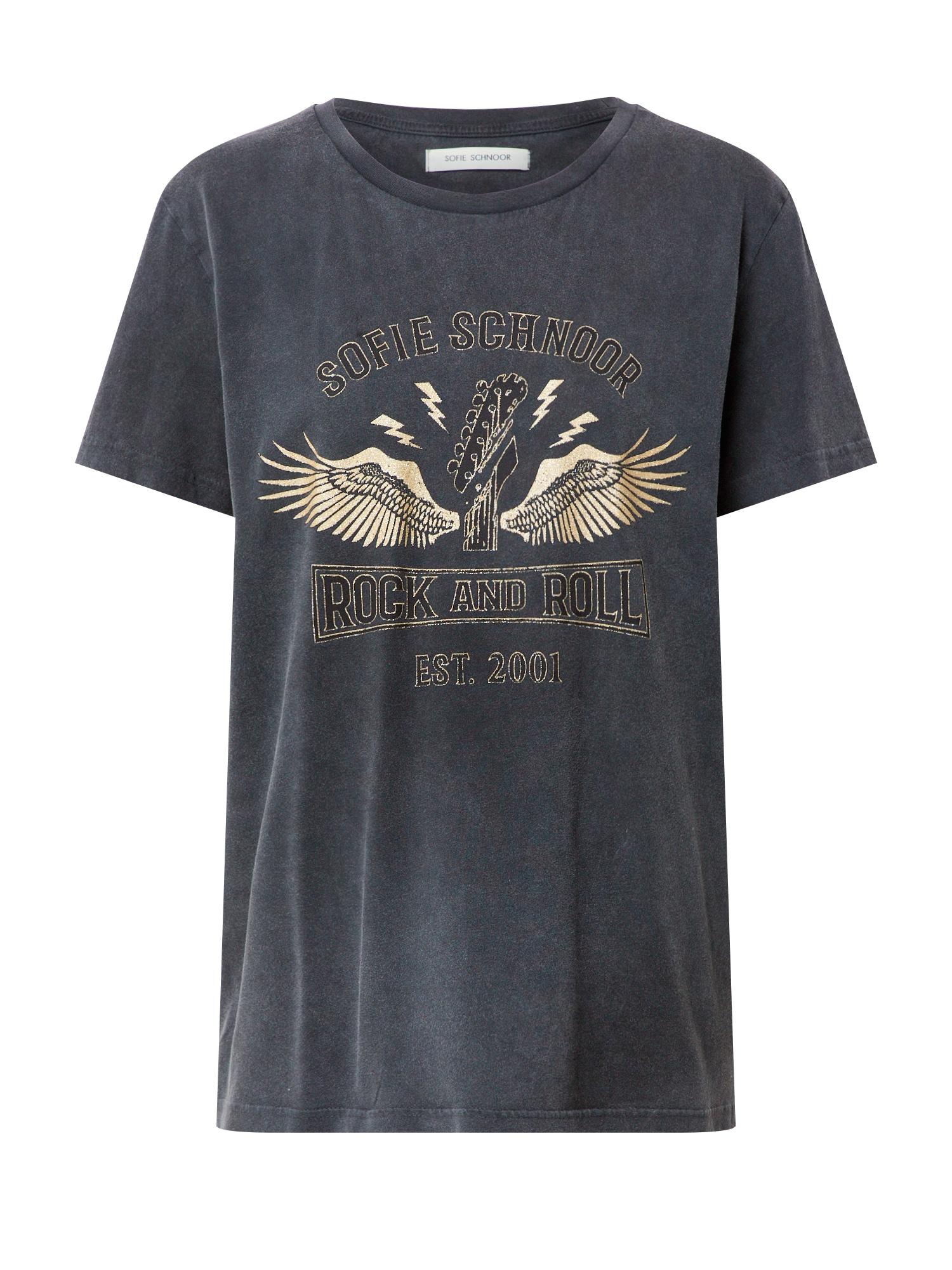 Sofie Schnoor Marškinėliai auksas / juoda
