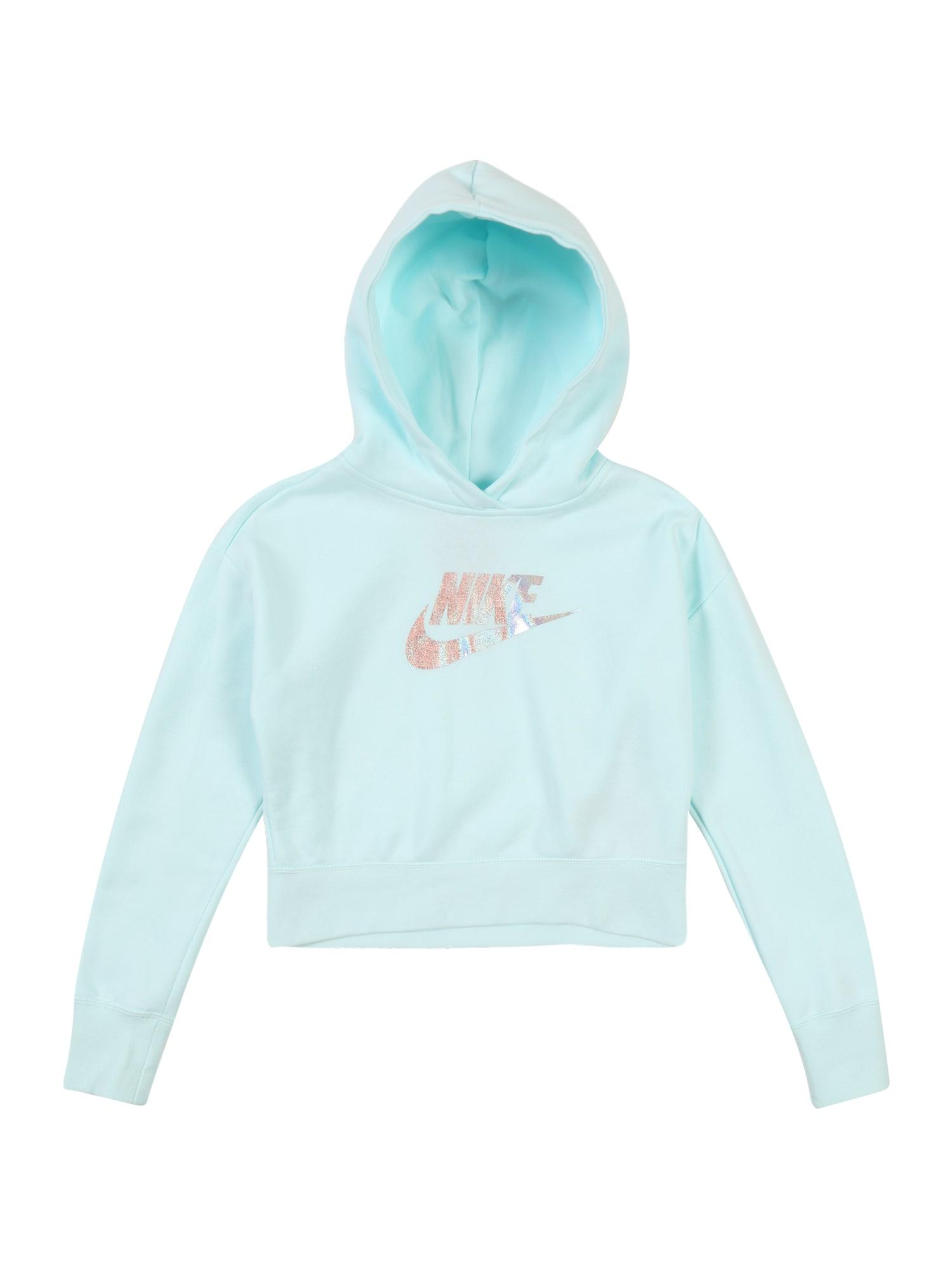 Nike Sportswear Megztinis be užsegimo šviesiai mėlyna