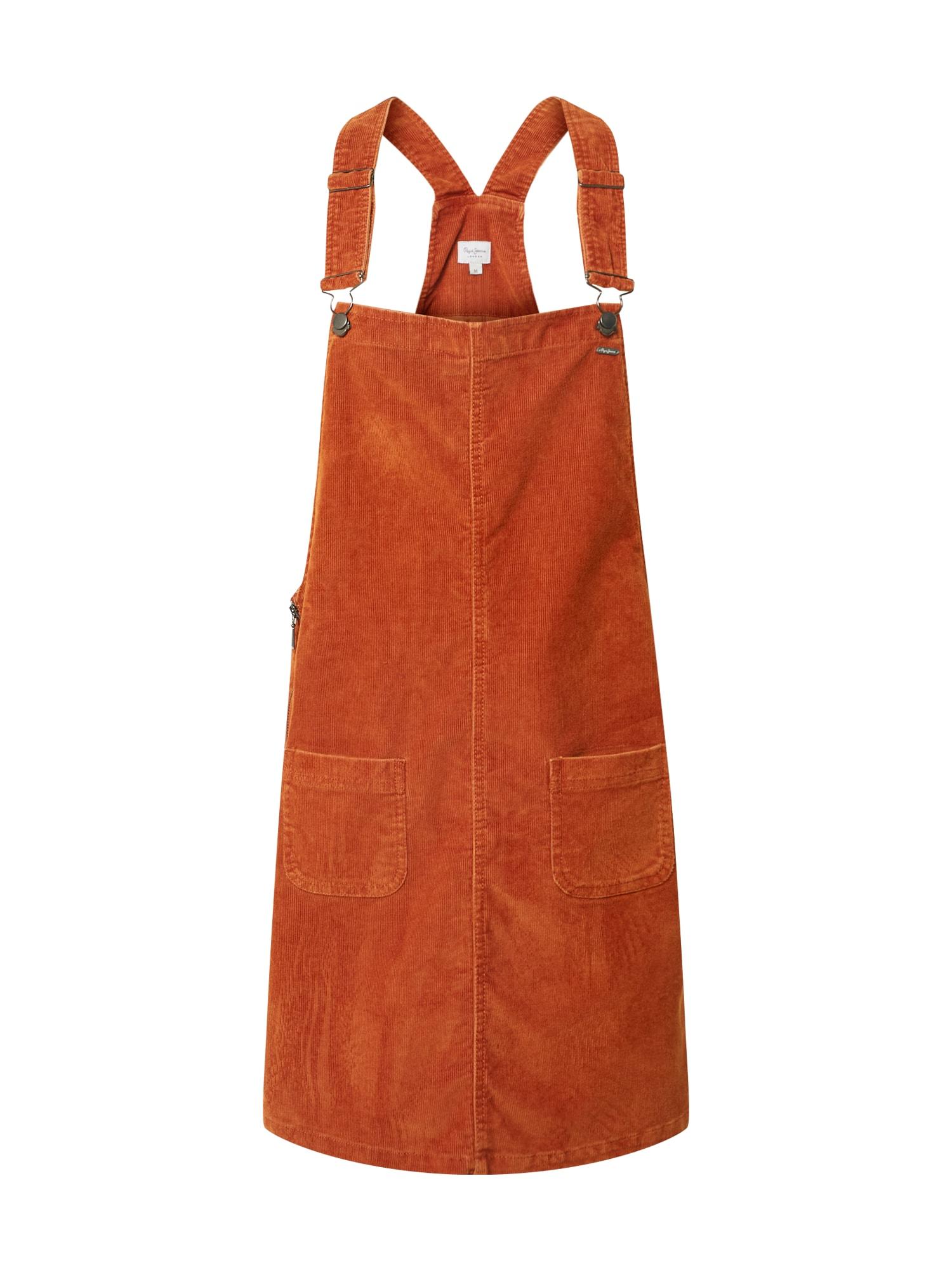 Pepe Jeans Šaty 'Vesta'  oranžově červená