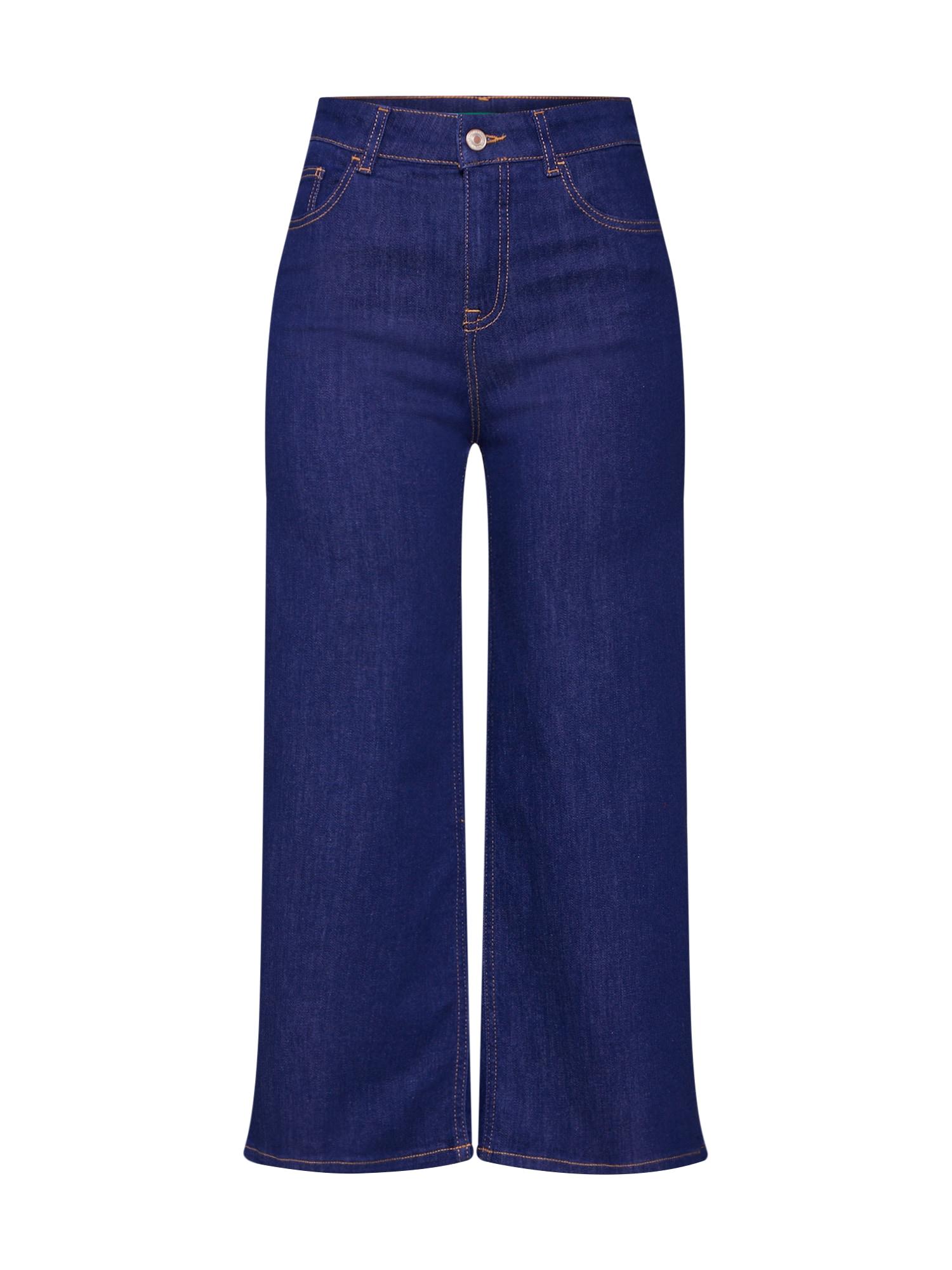 UNITED COLORS OF BENETTON Džinsai tamsiai (džinso) mėlyna