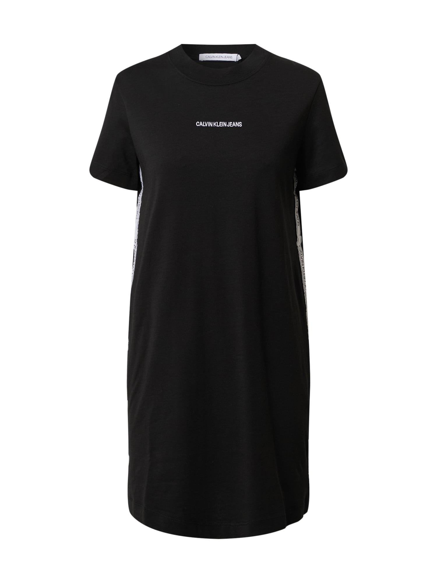 Calvin Klein Jeans Suknelė juoda
