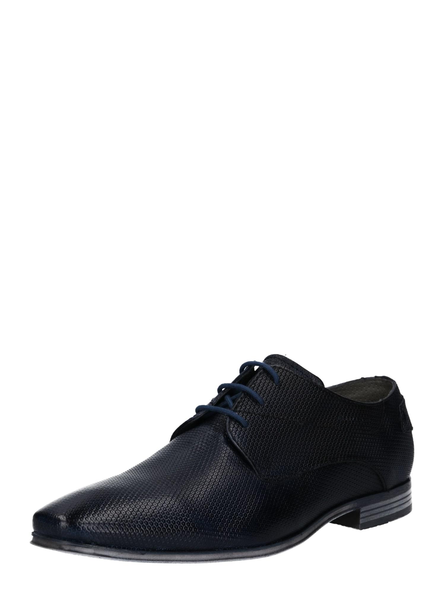 Šněrovací boty Morino noční modrá Bugatti