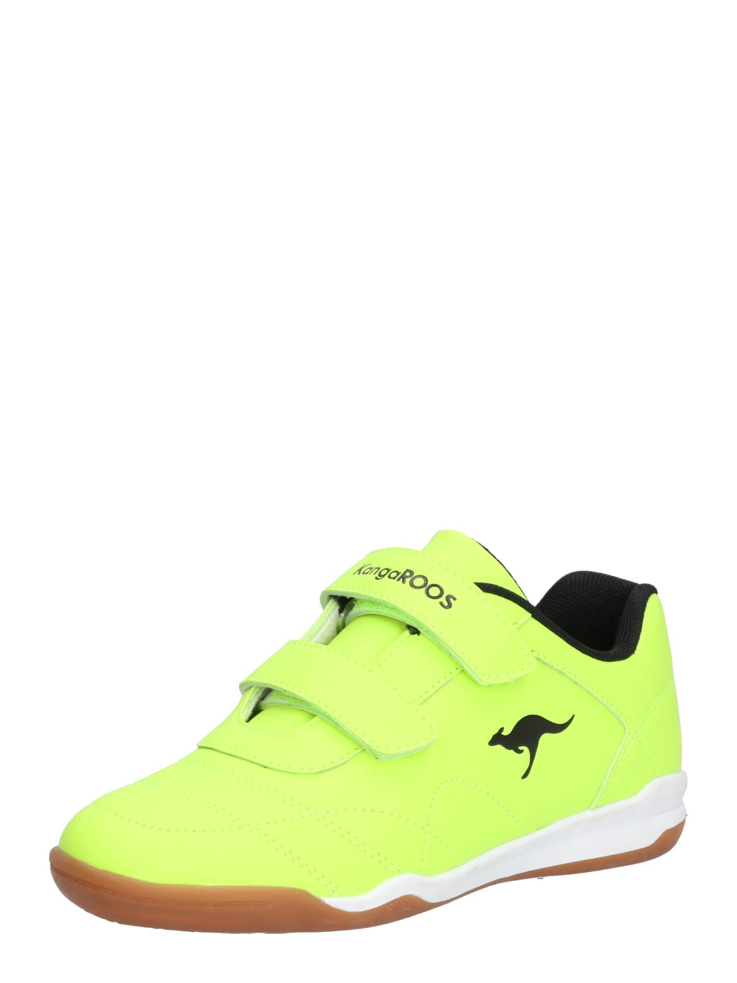 Tenisky svítivě žlutá černá KangaROOS