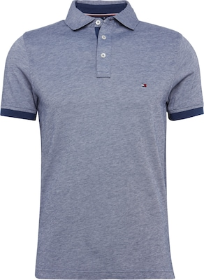 TOMMY HILFIGER Poloshirt 'Boris Polo S/S SF' in Melange-Optik