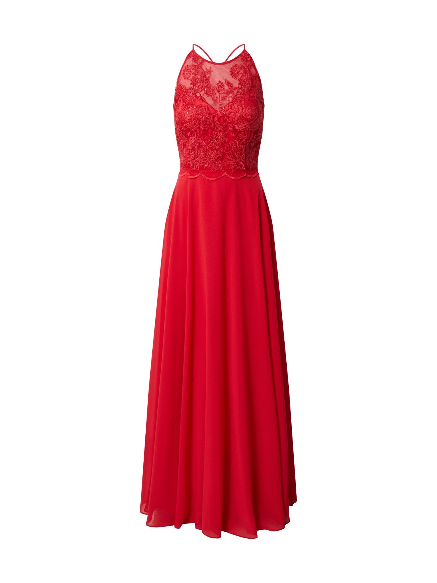 VM Vera Mont Vakarinė suknelė ugnies raudona