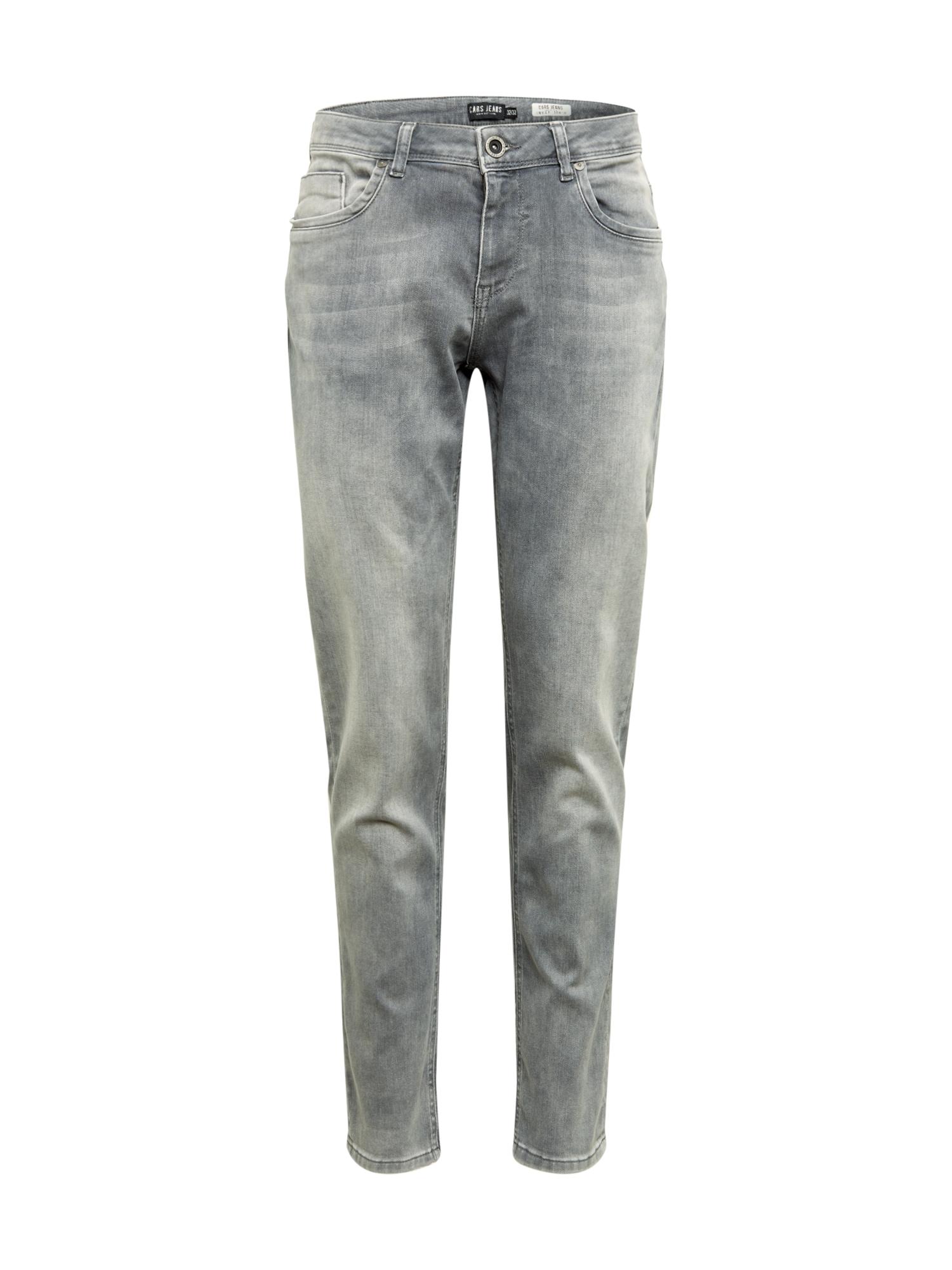 Cars Jeans Džinsai 'THRONE' pilko džinso