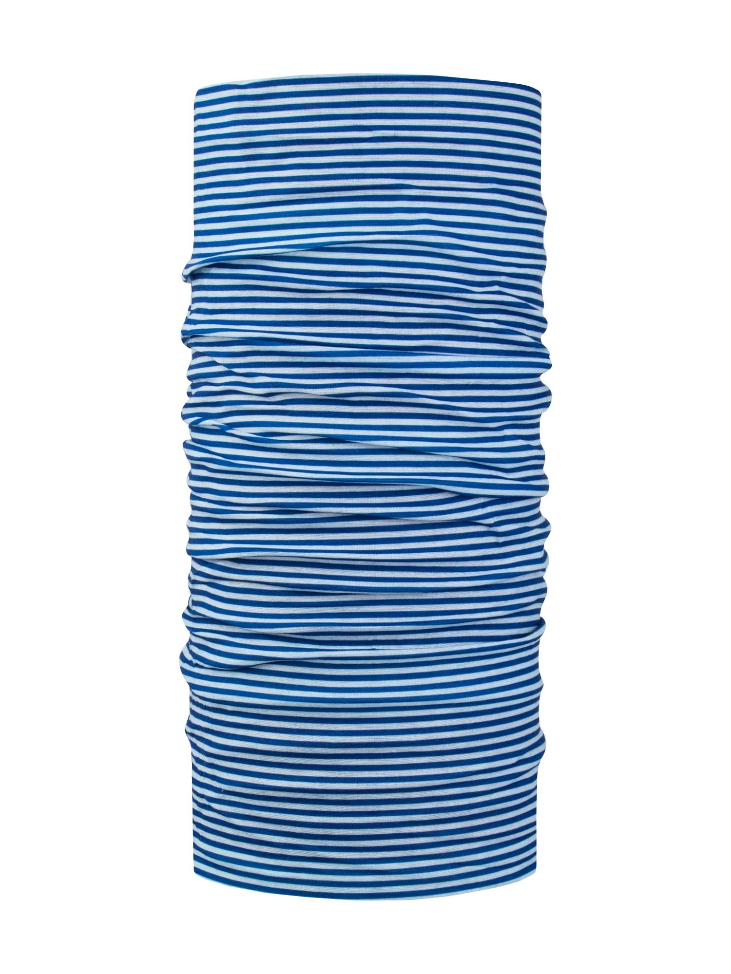 Kruhová šála Tubes modrá bílá Chillouts