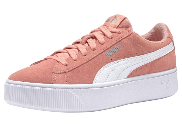 Sneakers für Frauen - PUMA Sneaker 'Vikky Stacked SD' rosé weiß  - Onlineshop ABOUT YOU