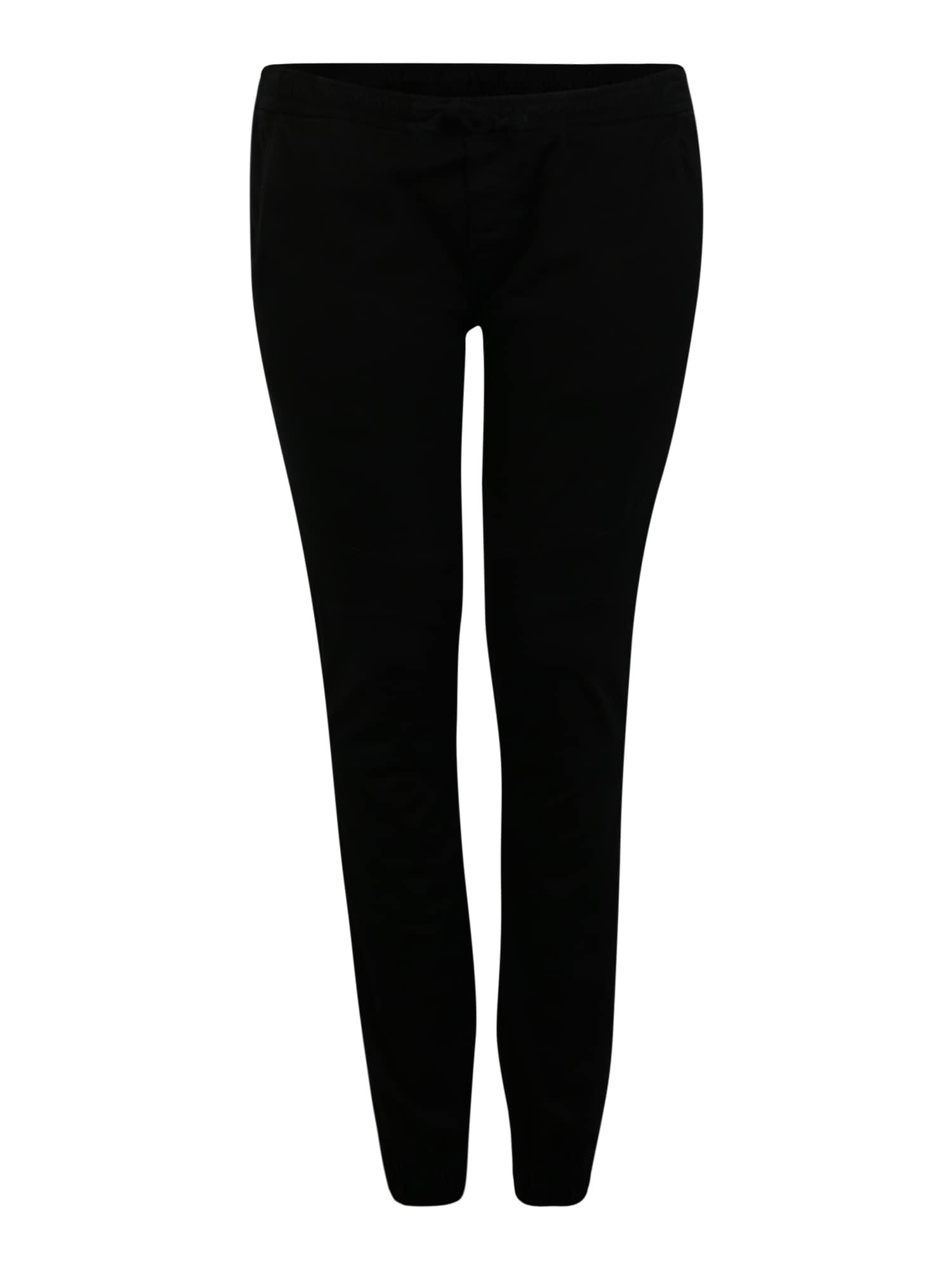 Urban Classics Curvy Kelnės juoda
