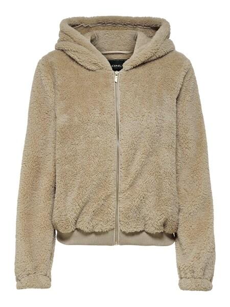 Jacken für Frauen - Jacke 'ANNA CONTACT ' › ONLY › sand  - Onlineshop ABOUT YOU