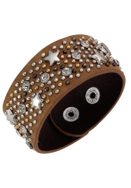 Armbaender für Frauen - J. Jayz Armband '139 133' braun gold silber  - Onlineshop ABOUT YOU