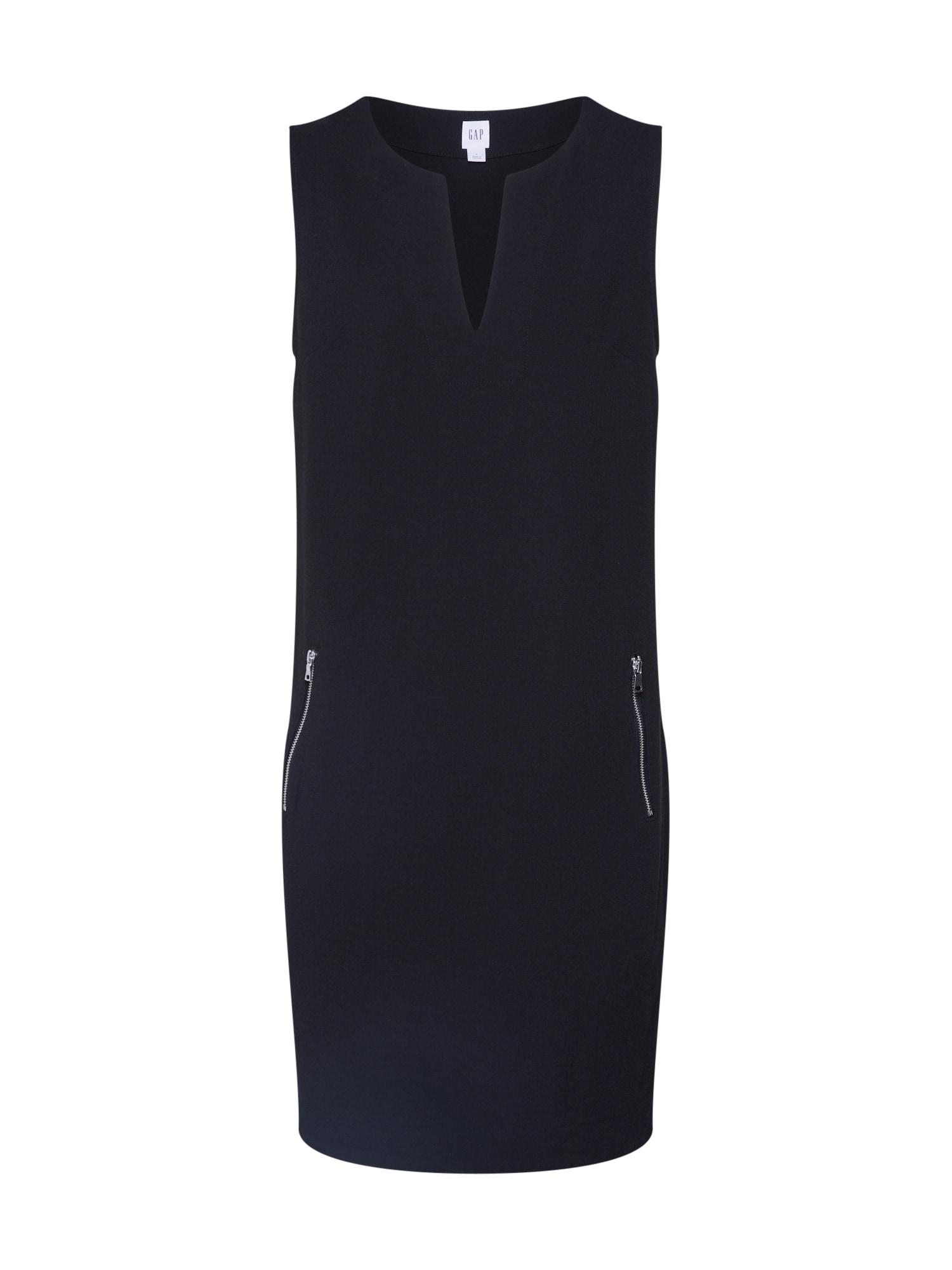 GAP Trumpa kokteilinė suknelė juoda
