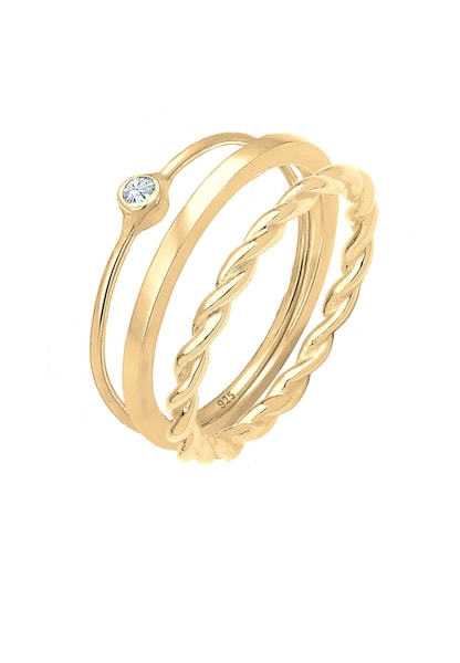 Ringe für Frauen - ELLI Ring Set gold  - Onlineshop ABOUT YOU
