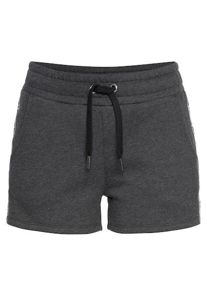 Hosen für Frauen - Sweatshorts › Buffalo › schwarzmeliert weiß  - Onlineshop ABOUT YOU