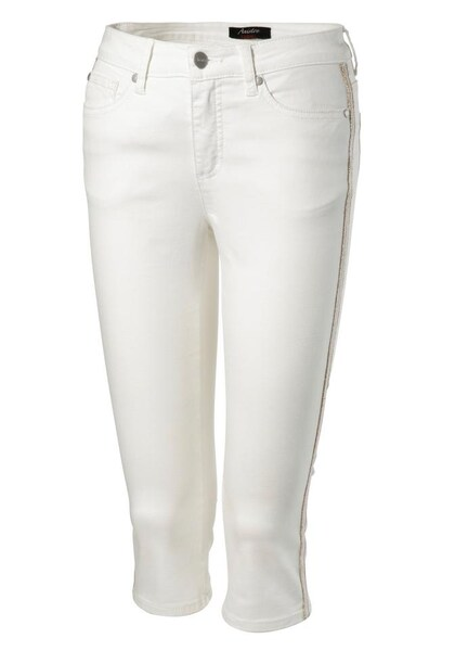 Hosen - Caprijeans › Aniston SELECTED › white denim  - Onlineshop ABOUT YOU