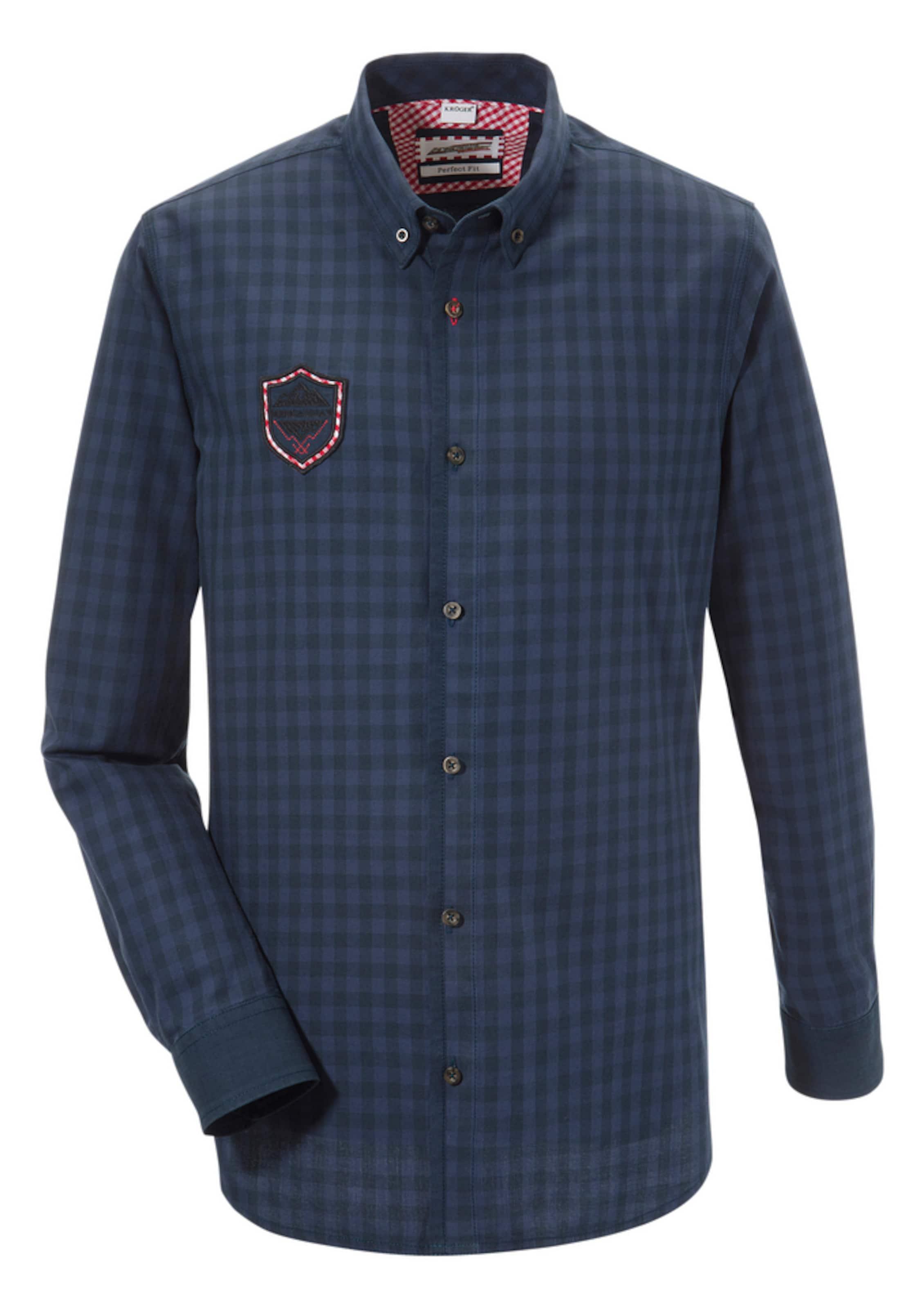 Herren Andreas Gabalier Kollektion Trachtenhemd blau | 04061468148273