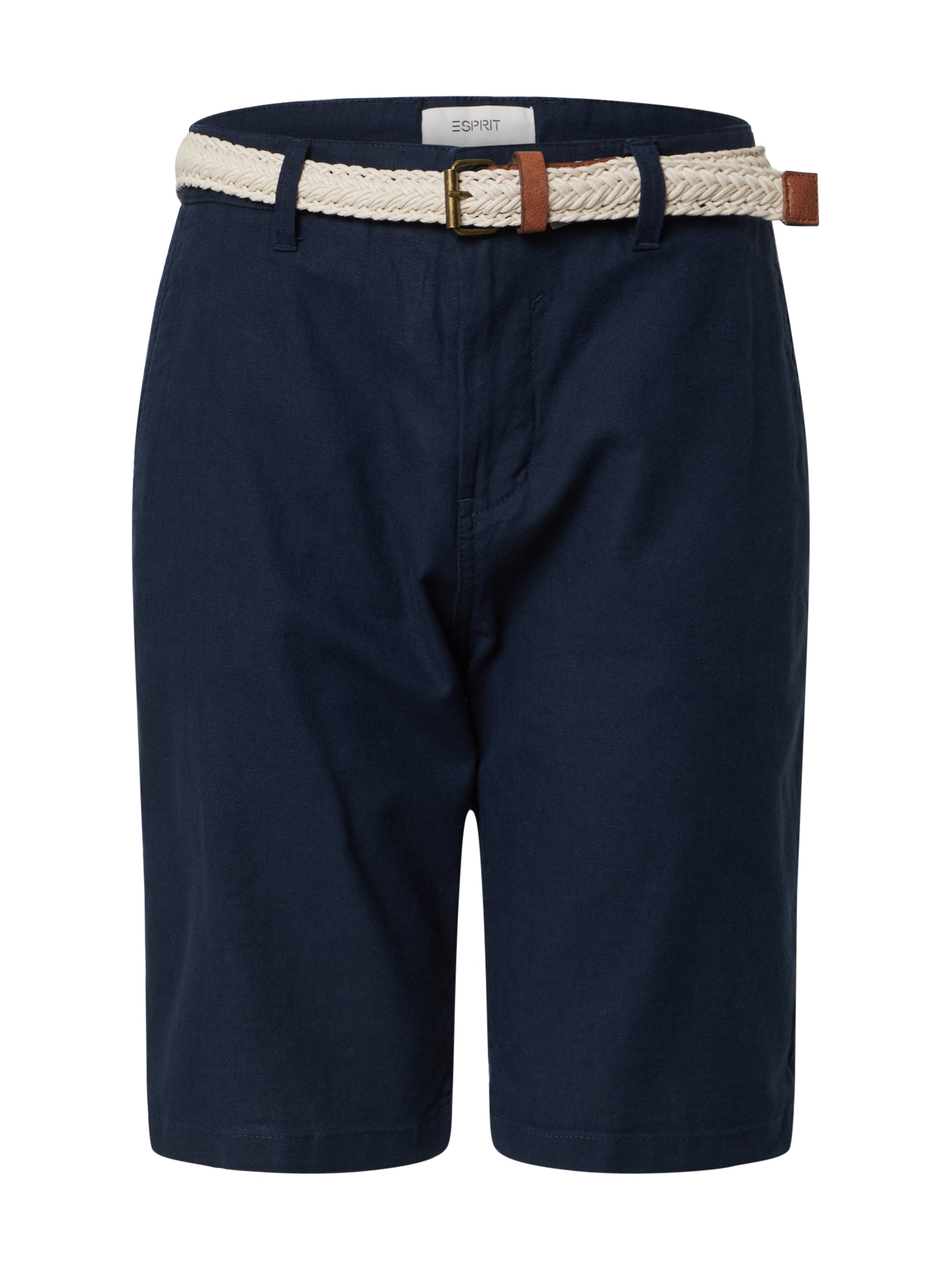 ESPRIT Chino stiliaus kelnės 'F BASIC CO/LI' tamsiai mėlyna