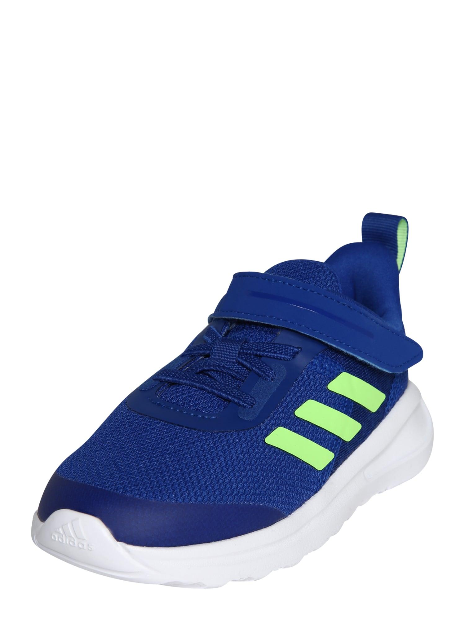 ADIDAS PERFORMANCE Sportiniai batai 'FortaRun 2020' balta / neoninė žalia / tamsiai mėlyna