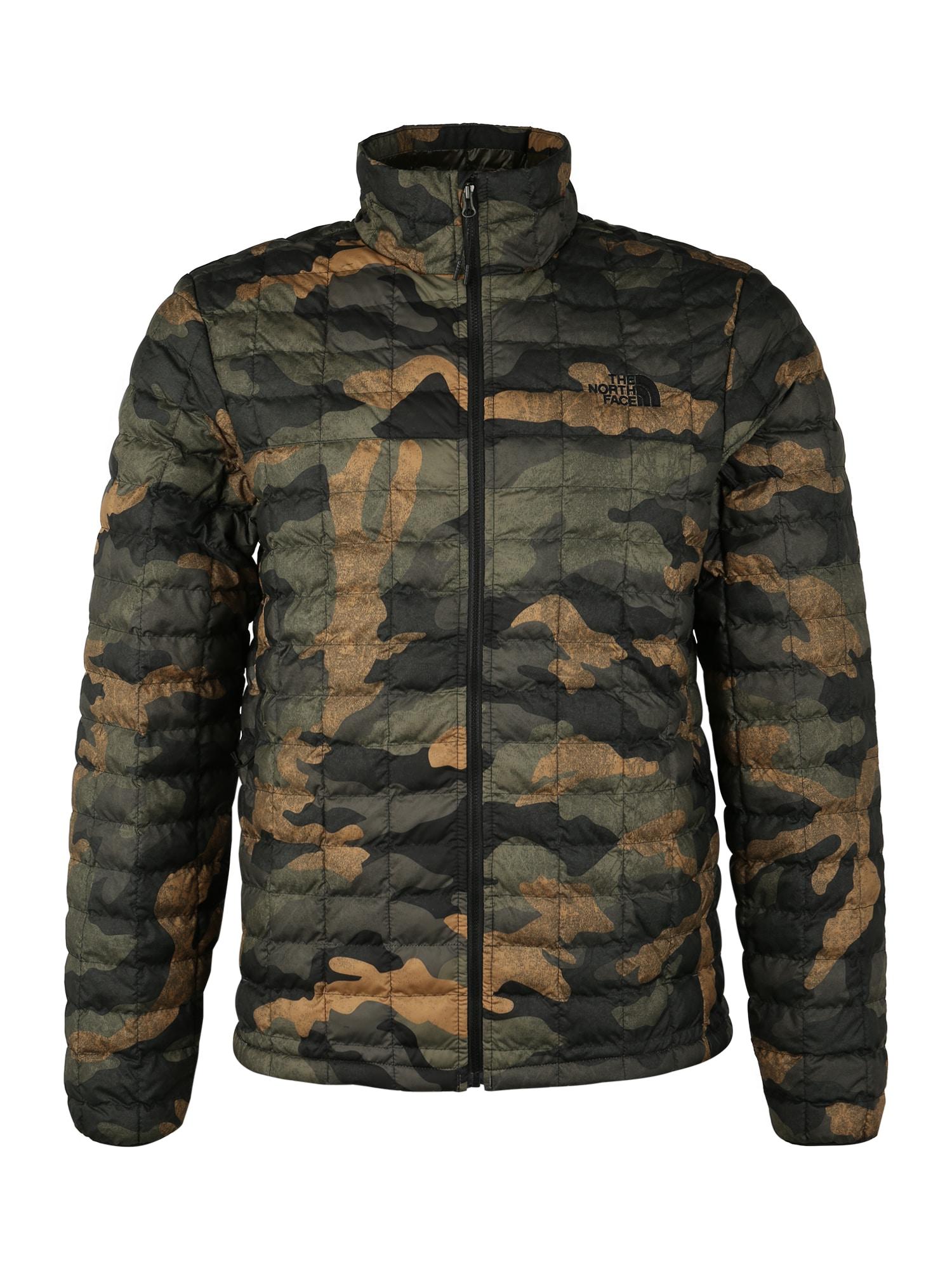 THE NORTH FACE Kültéri kabátok 'Thermoball Eco'  olíva / fekete / világosbarna / sötétszürke