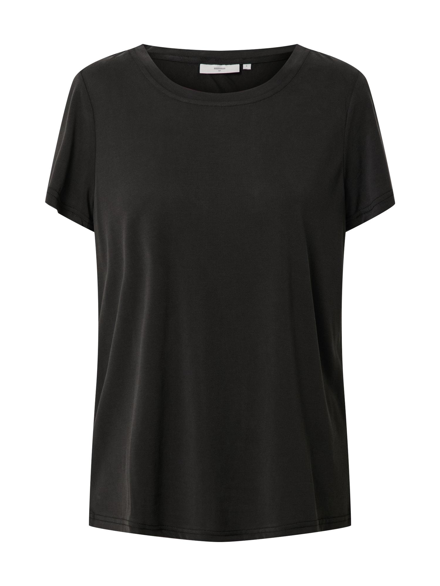 minimum Marškinėliai juoda