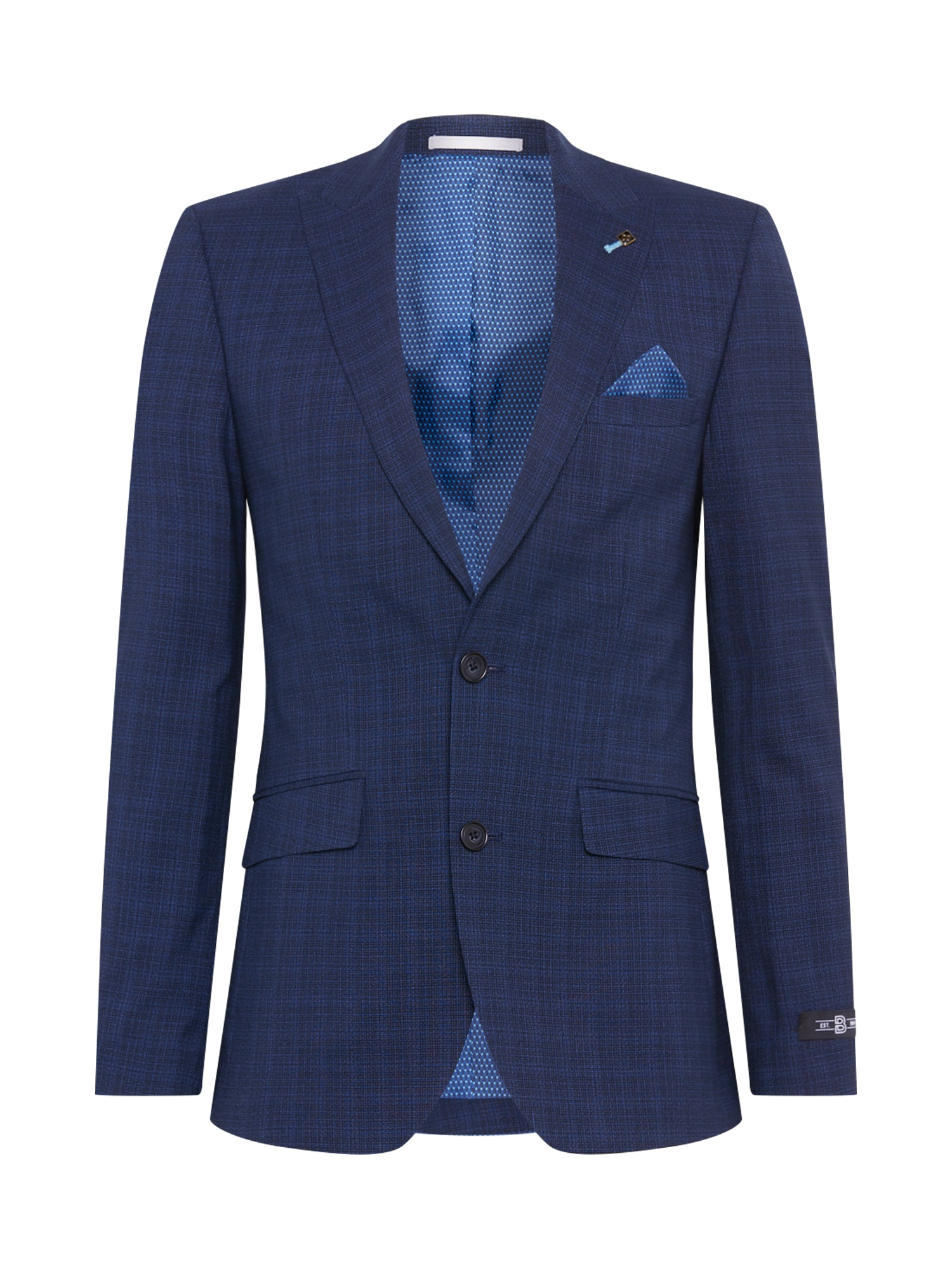 BURTON MENSWEAR LONDON Klasikinis švarkas tamsiai mėlyna jūros spalva / tamsiai mėlyna