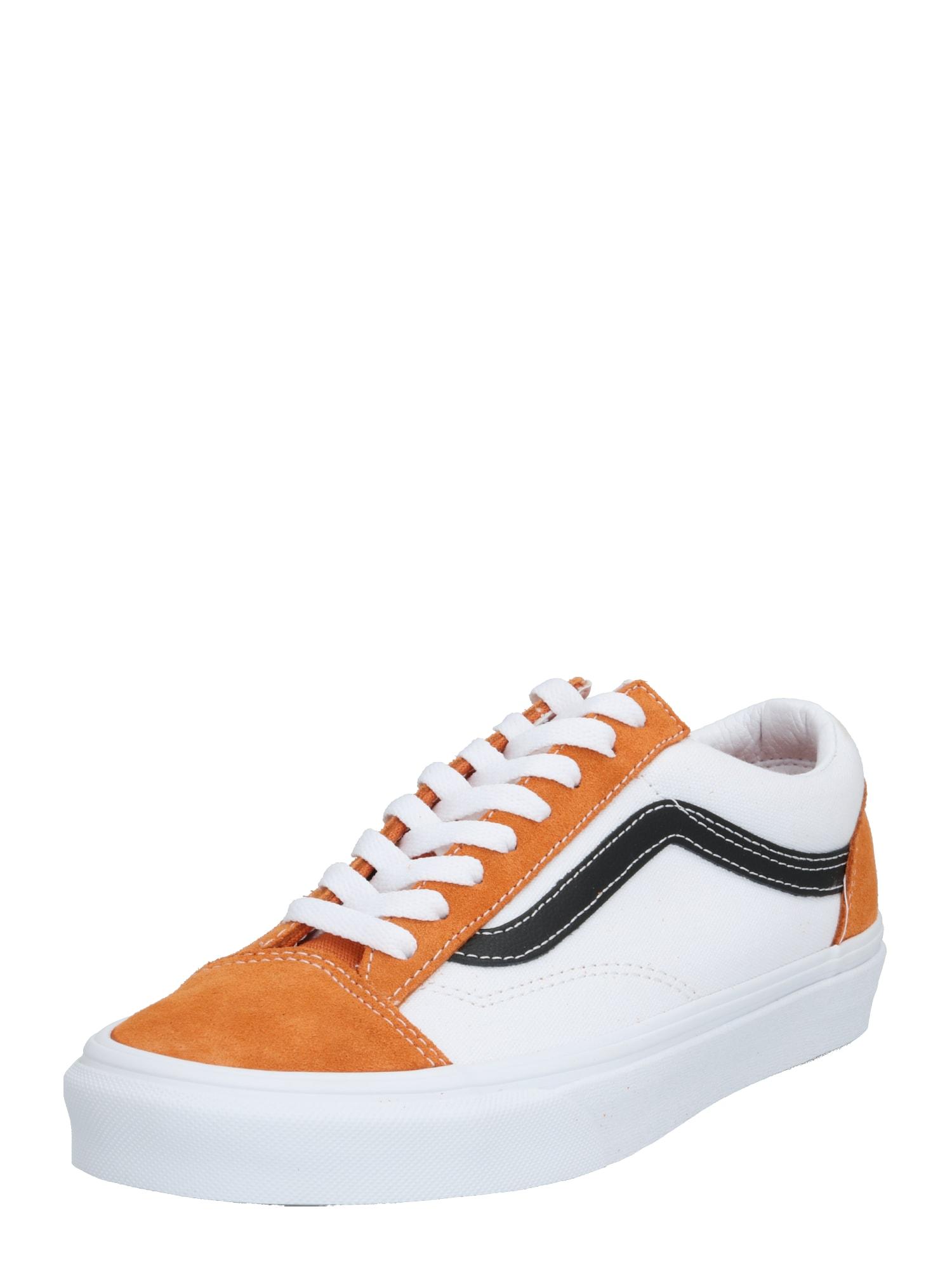 VANS Nízke tenisky 'UA Style 36'  oranžová / biela