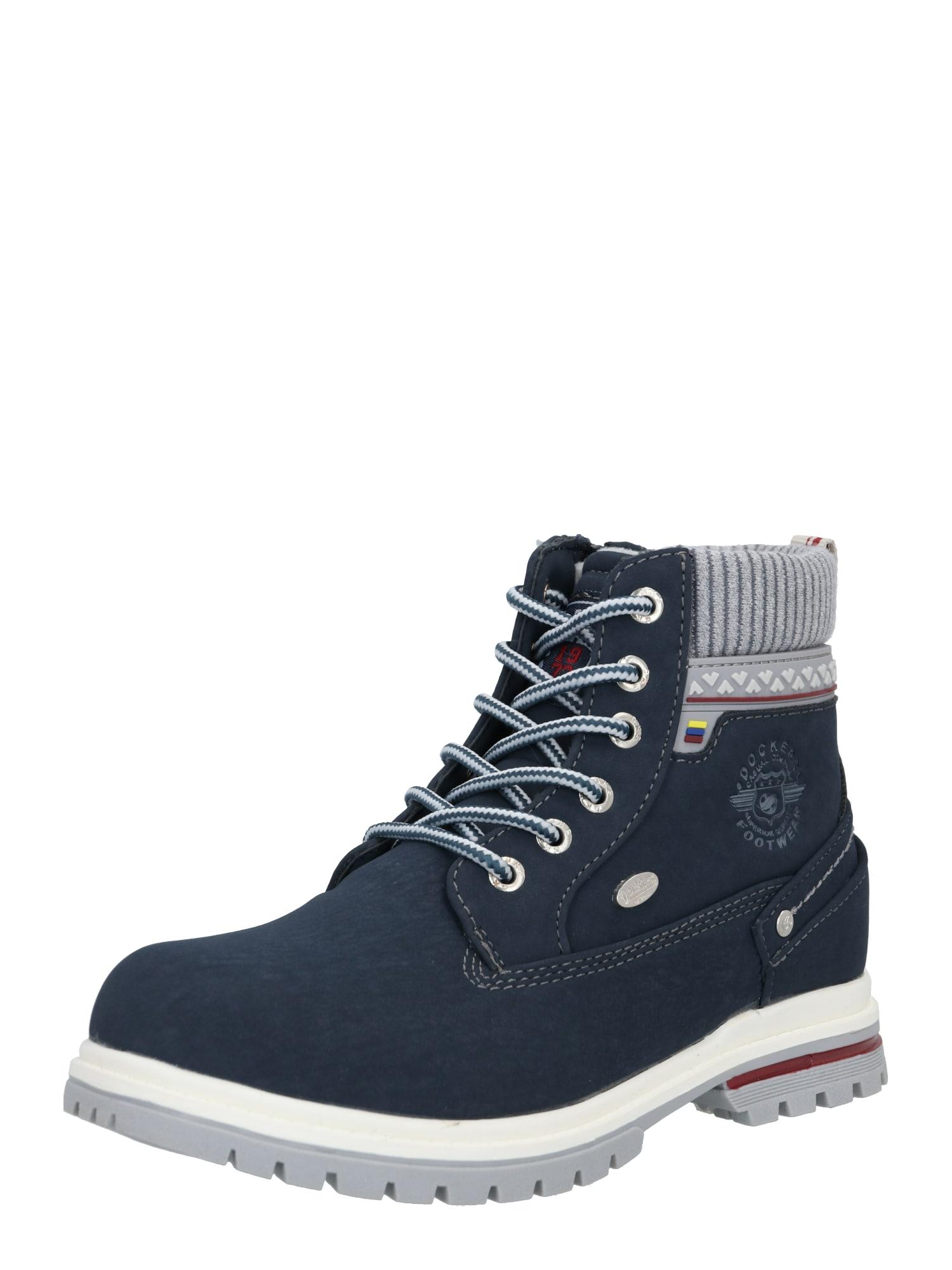 Dockers by Gerli Auliniai batai su kulniuku tamsiai mėlyna