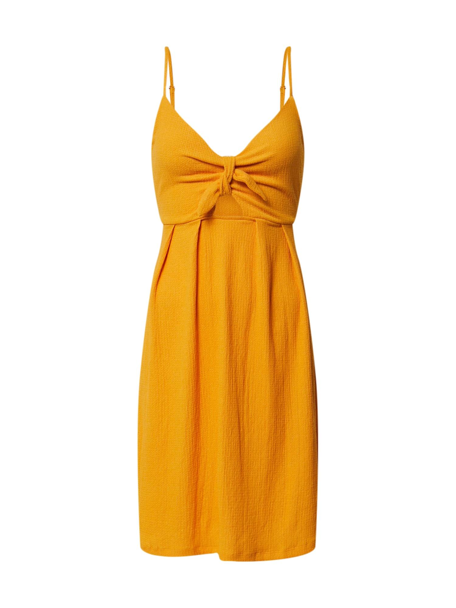 ABOUT YOU Vasarinė suknelė 'Dakota' geltona