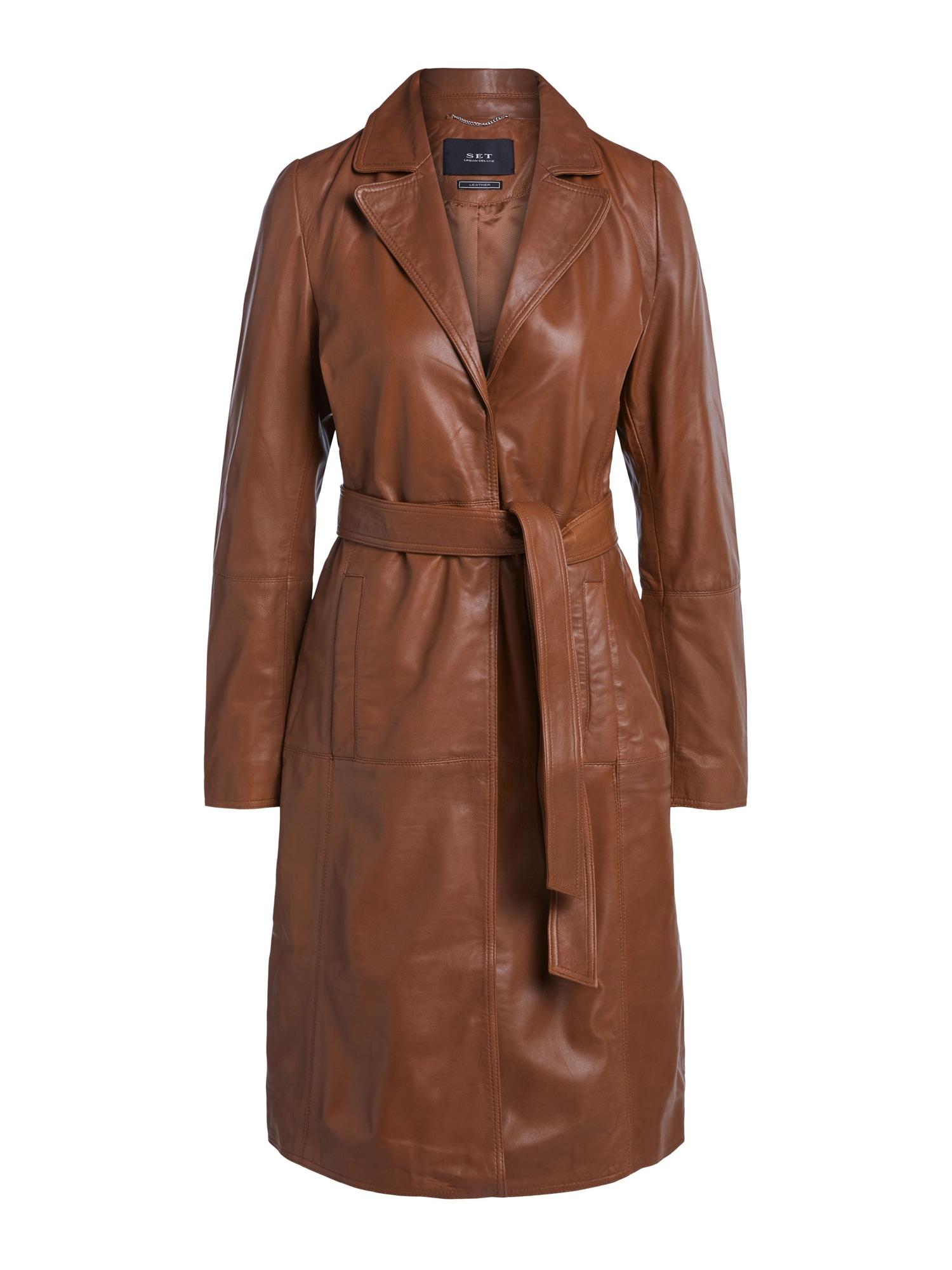 SET Rudeninis-žieminis paltas kupranugario