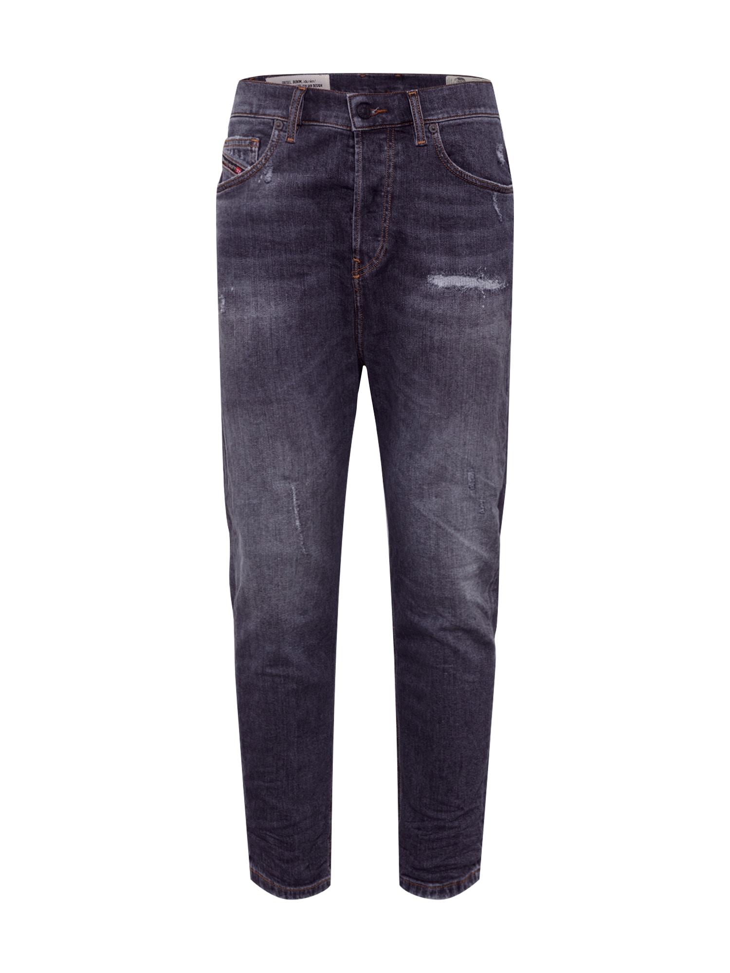 DIESEL Džinsai 'D-VIDER' tamsiai (džinso) mėlyna