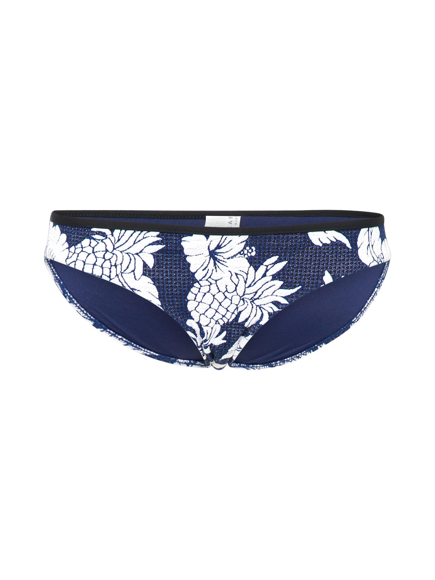 Spodní díl plavek Hipster královská modrá tmavě modrá bílá Seafolly