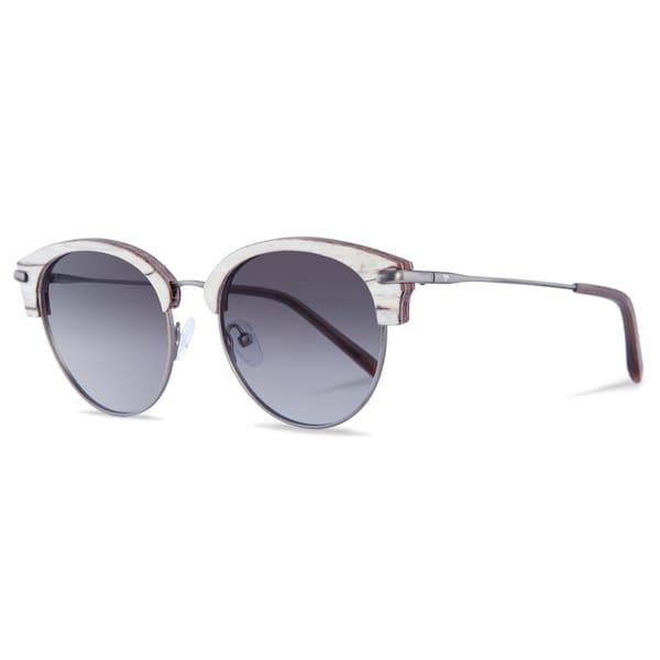 Sonnenbrillen für Frauen - Kerbholz Sonnenbrille 'Carl' beige hellgrau  - Onlineshop ABOUT YOU