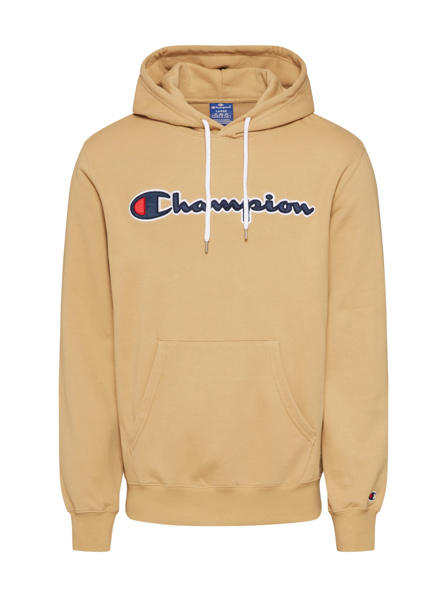 Champion Authentic Athletic Apparel Megztinis be užsegimo smėlio