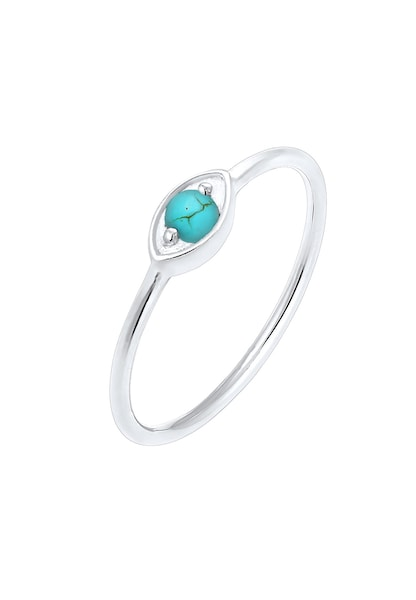 Ringe für Frauen - ELLI Ring 'Evil Eye' türkis silber  - Onlineshop ABOUT YOU
