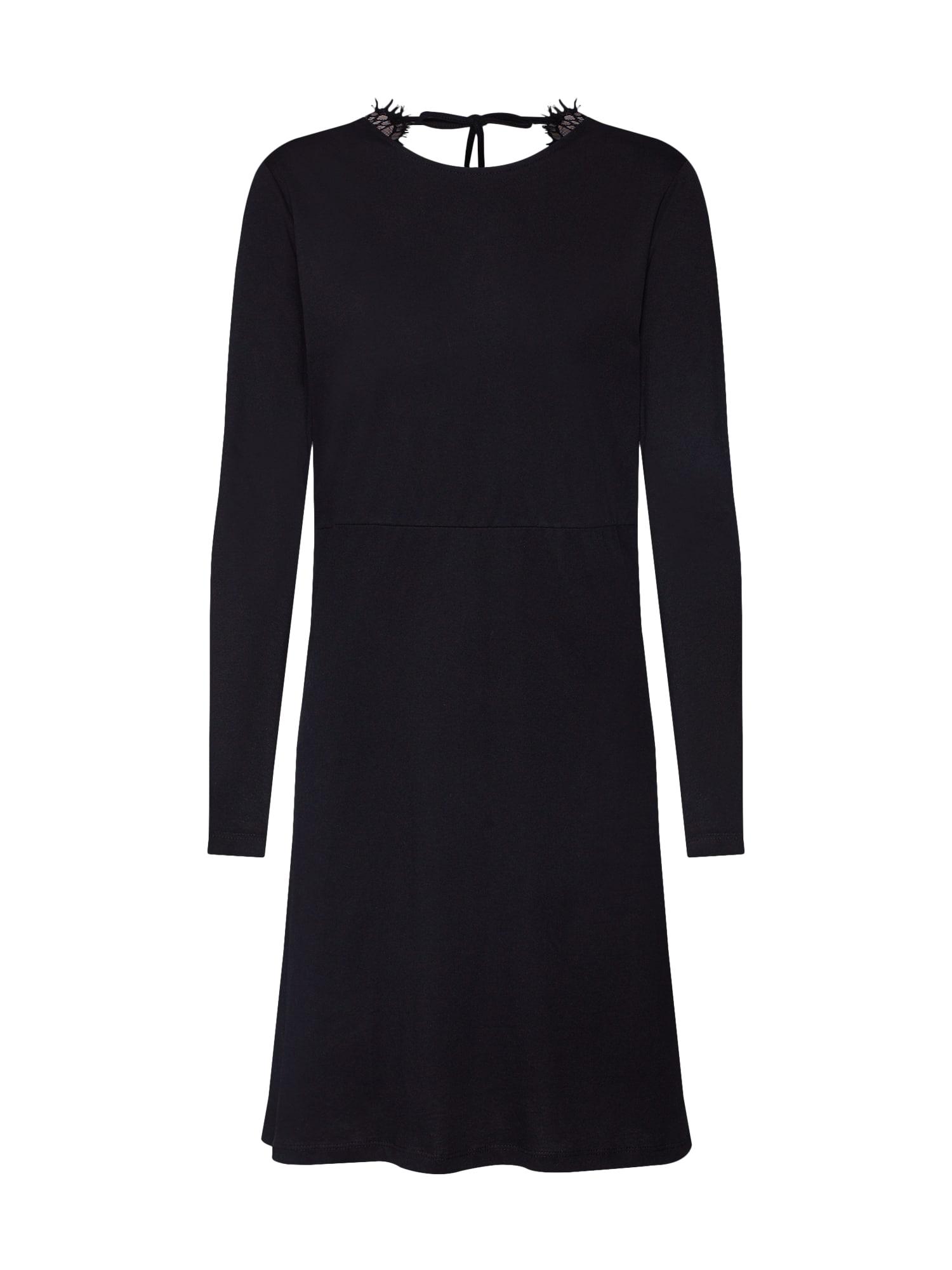 Koktejlové šaty Helse černá Noisy May