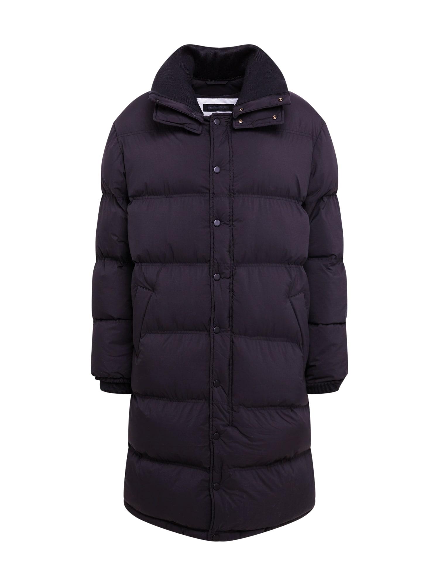 DRYKORN Žieminis paltas 'ARIKK' juoda