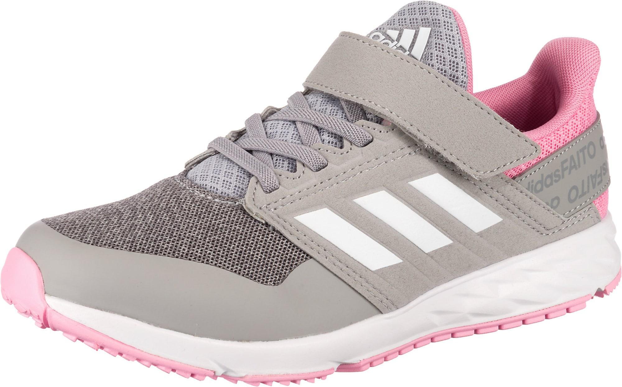 ADIDAS PERFORMANCE Sportiniai batai balta / rožinė / bazalto pilka