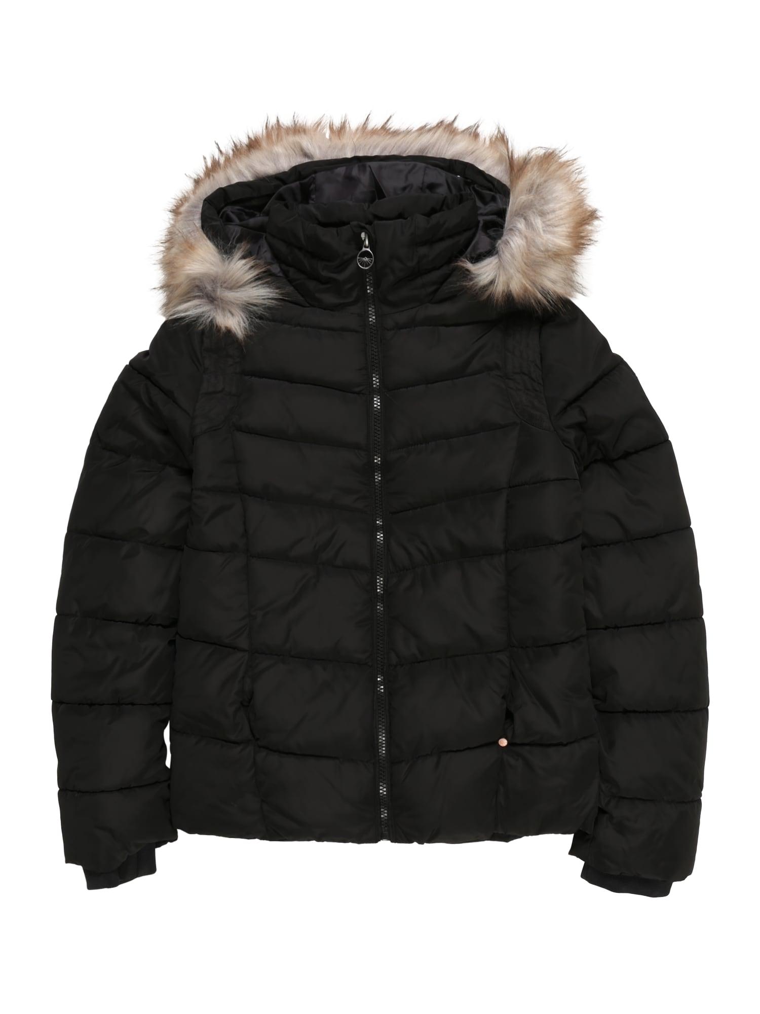 Petrol Industries Zimná bunda 'Girls Jacket Puff'  čierna