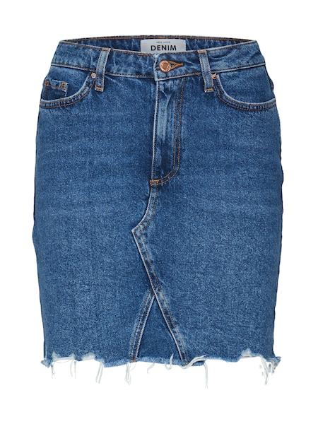Roecke für Frauen - NEW LOOK Rock 'MOM SKITTLES' blue denim  - Onlineshop ABOUT YOU