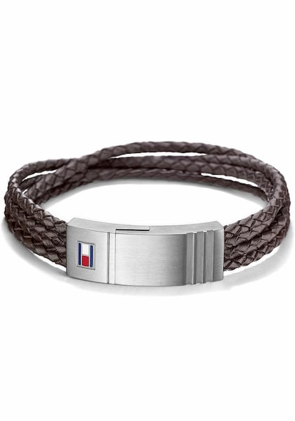 Armbaender für Frauen - TOMMY HILFIGER Armband »Casual Core, 2701008« braun grau  - Onlineshop ABOUT YOU