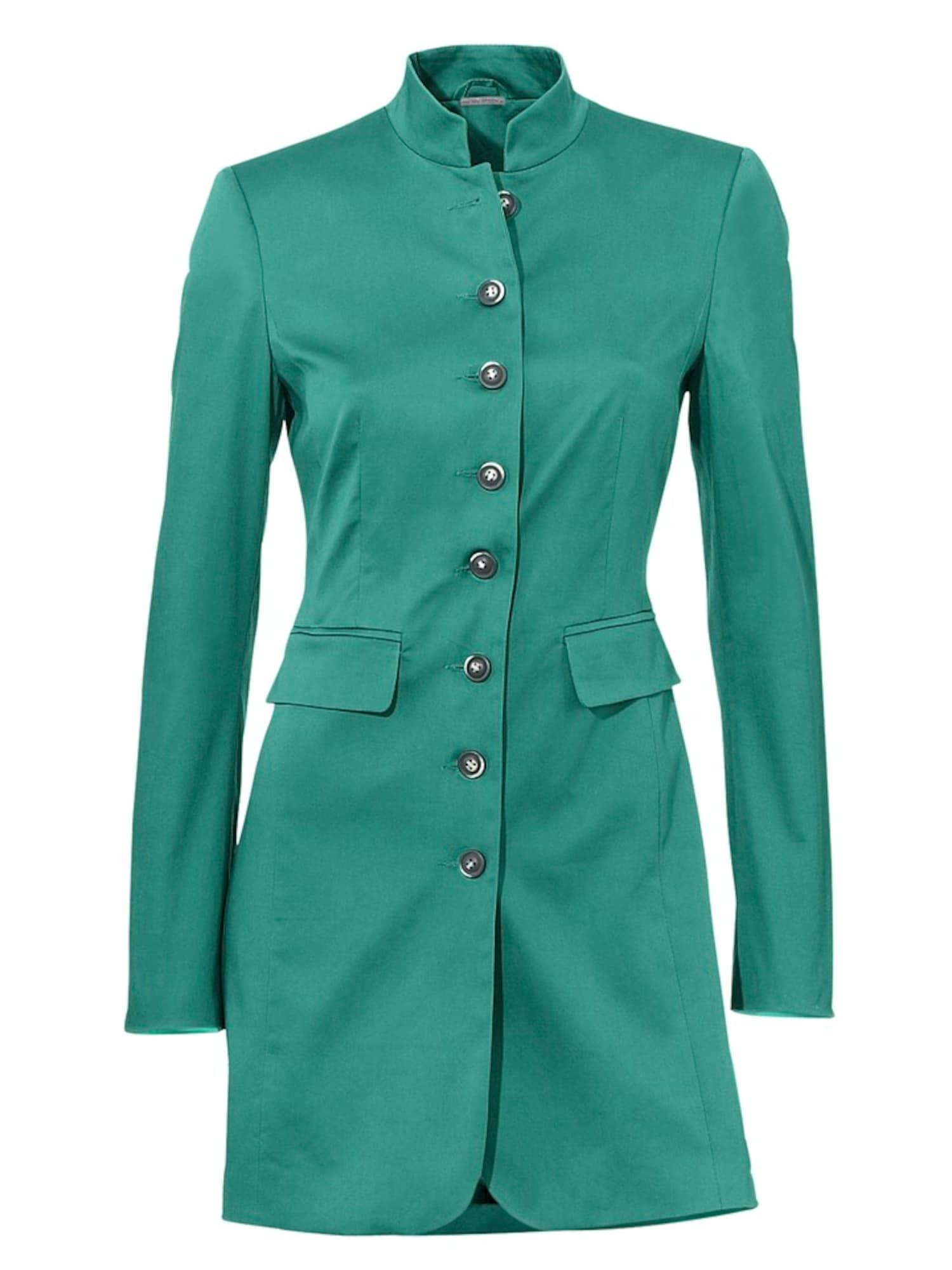 heine Demisezoninė striukė smaragdinė spalva