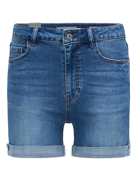 Hosen für Frauen - Shorts 'LOU 2862' › BROADWAY NYC FASHION › dunkelblau  - Onlineshop ABOUT YOU