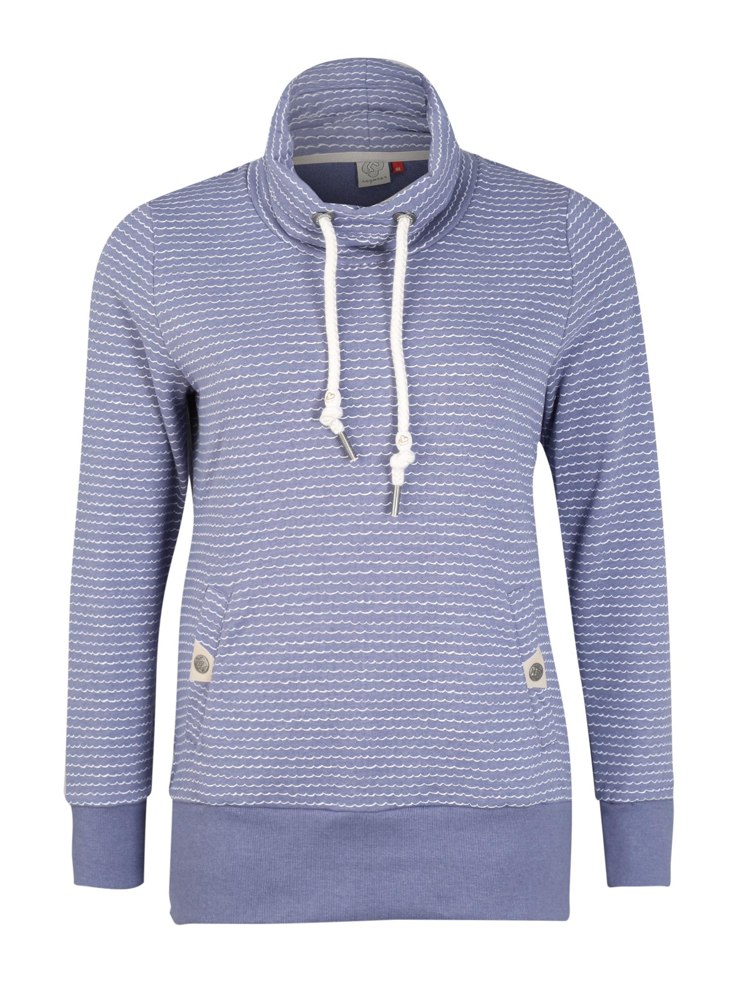 Ragwear Plus Megztinis be užsegimo 'RYLIE PLUS' levandų spalva